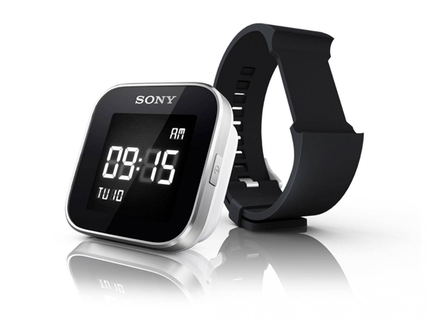 Sony already has a product on the market - the SmartWatch 2