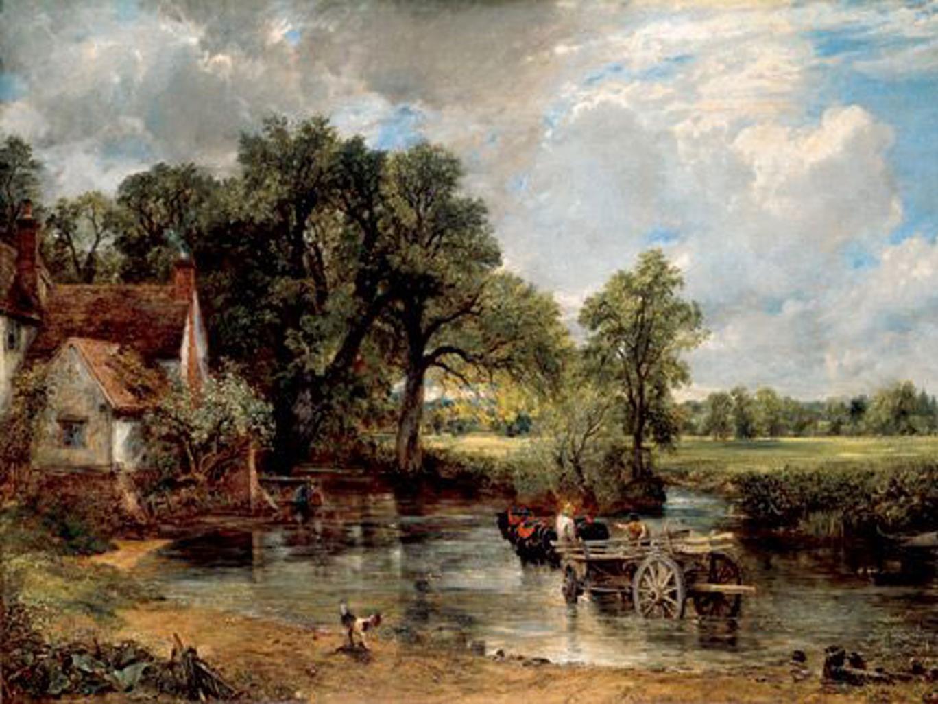 Constable's The Hay Wain