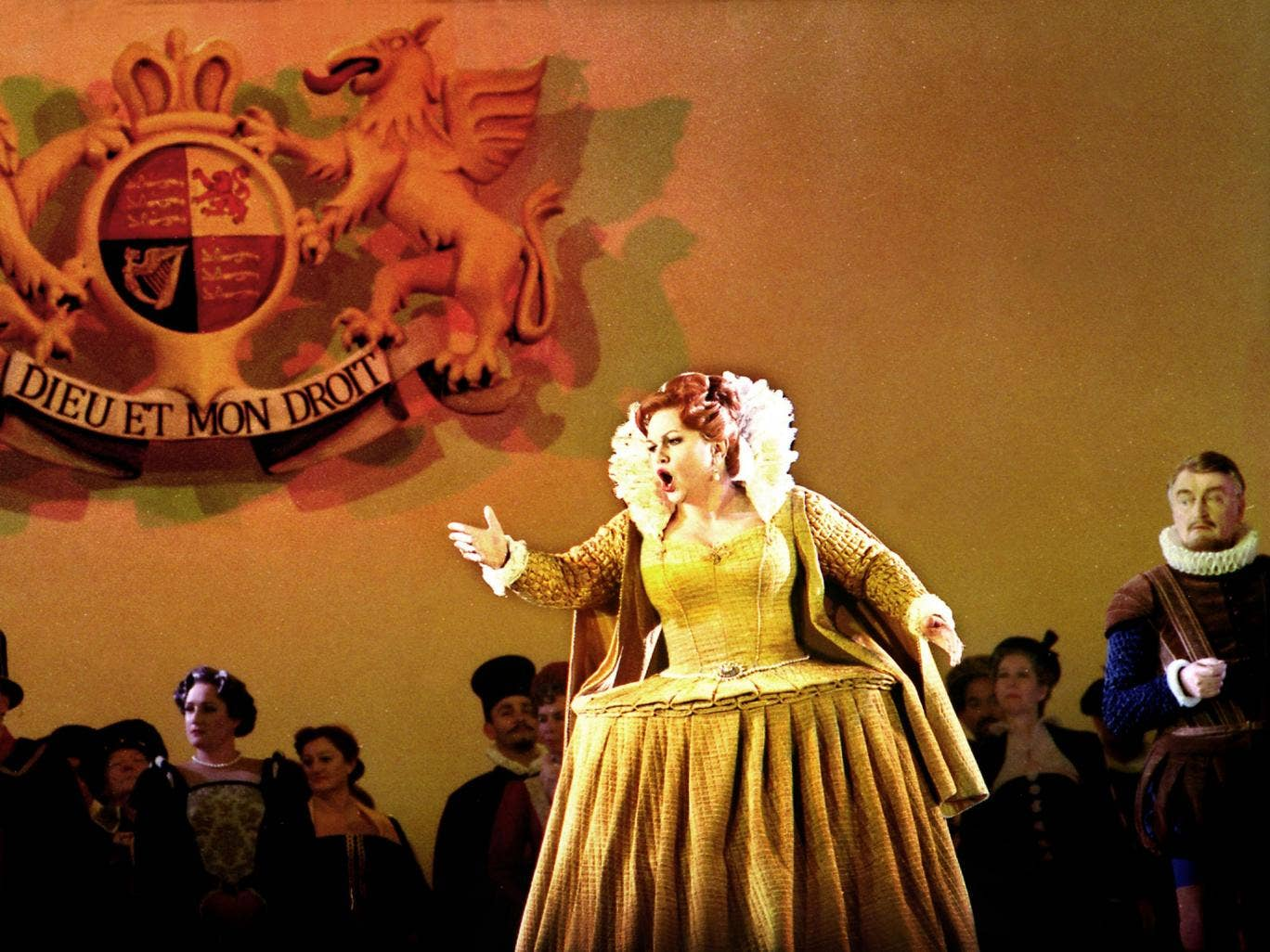 Royal command: Susan Bullock's Elizabeth I has a touch of Bette Davis about her