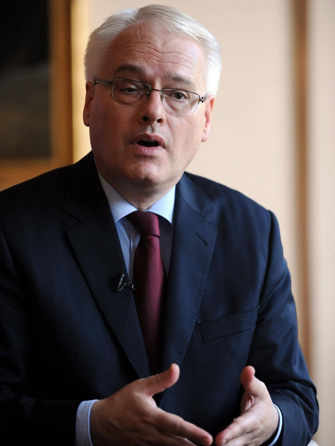 Croatia's President, Ivo Josipovic, says the only future for his country is in Europe