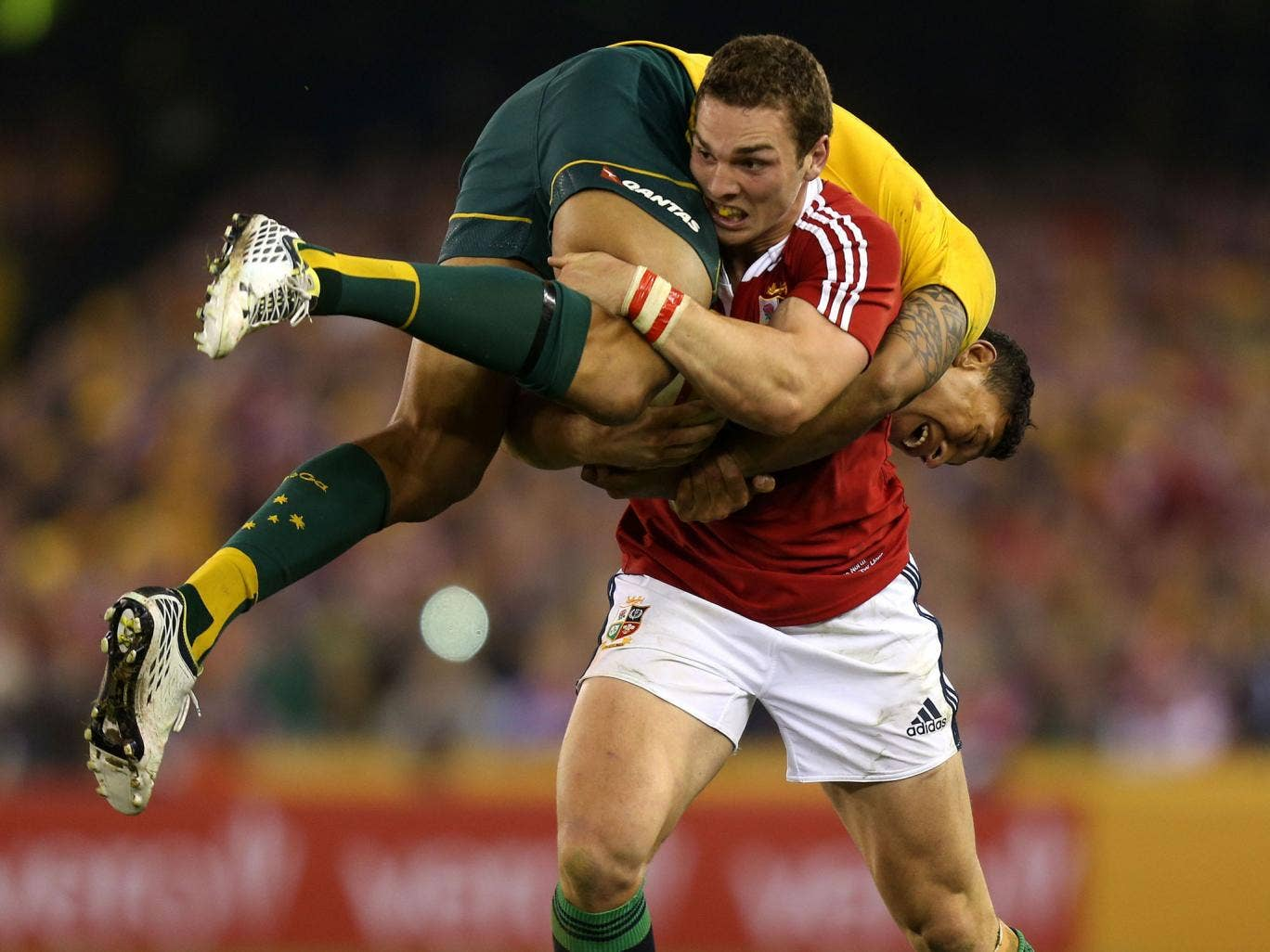 The Lions need more of the spirit shown by George North