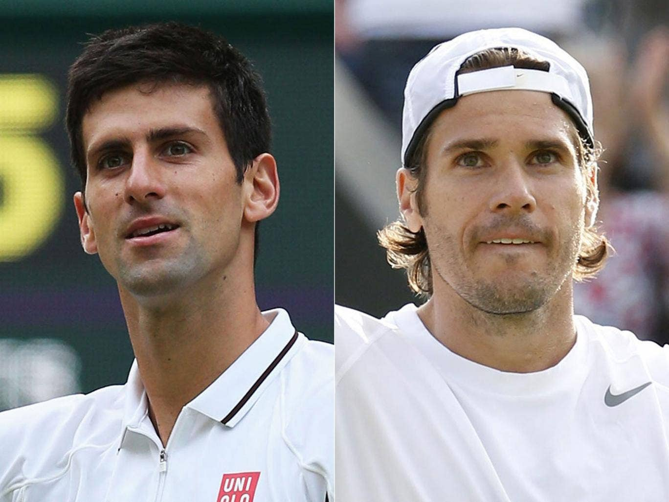 Djokovic v Haas