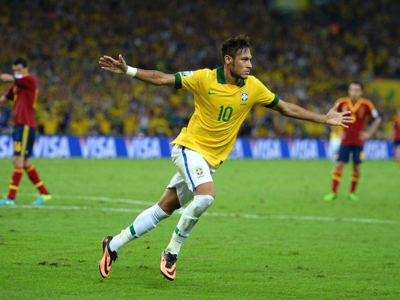 Neymar was the best player at the tournament