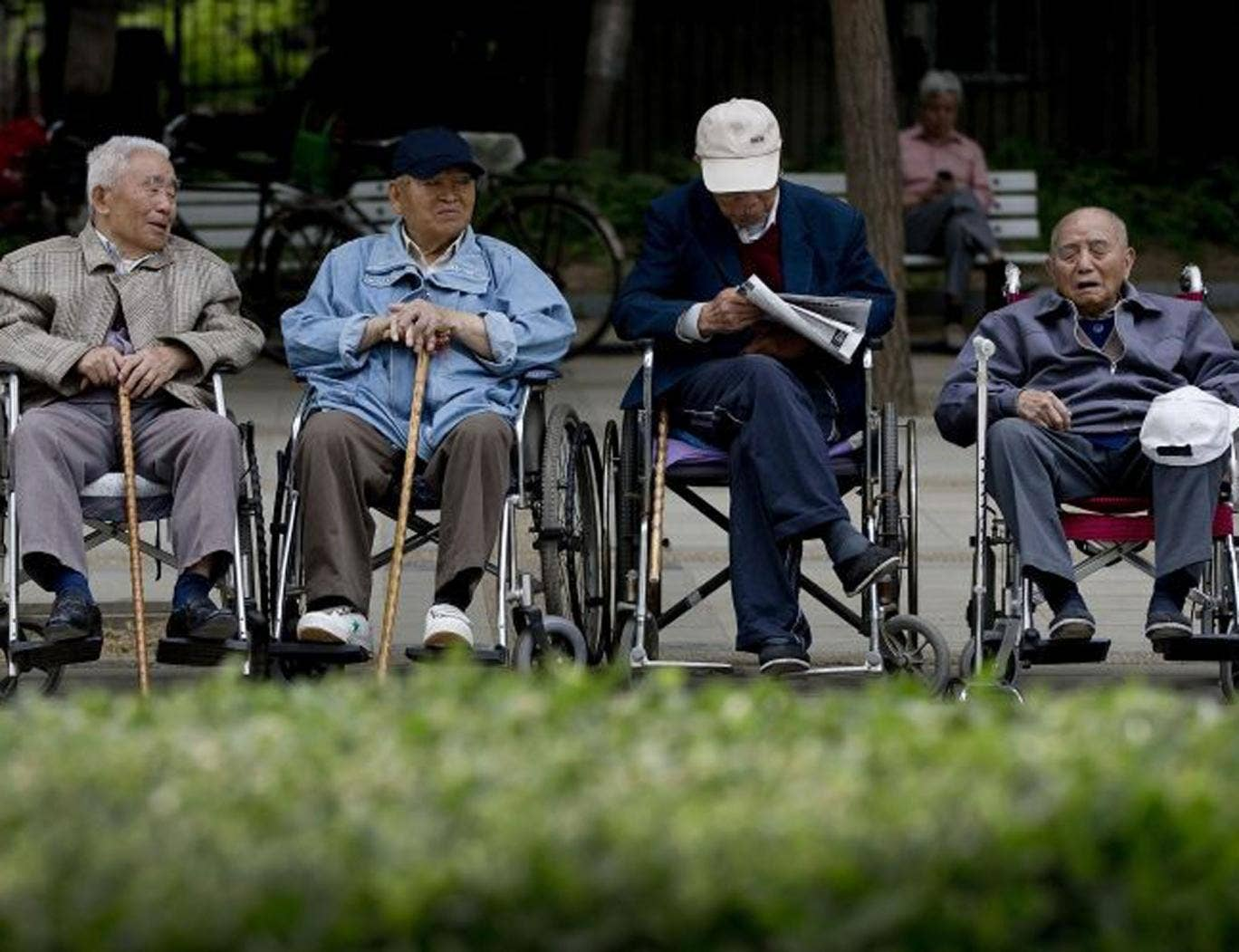 China has 193 million people aged 60 or above