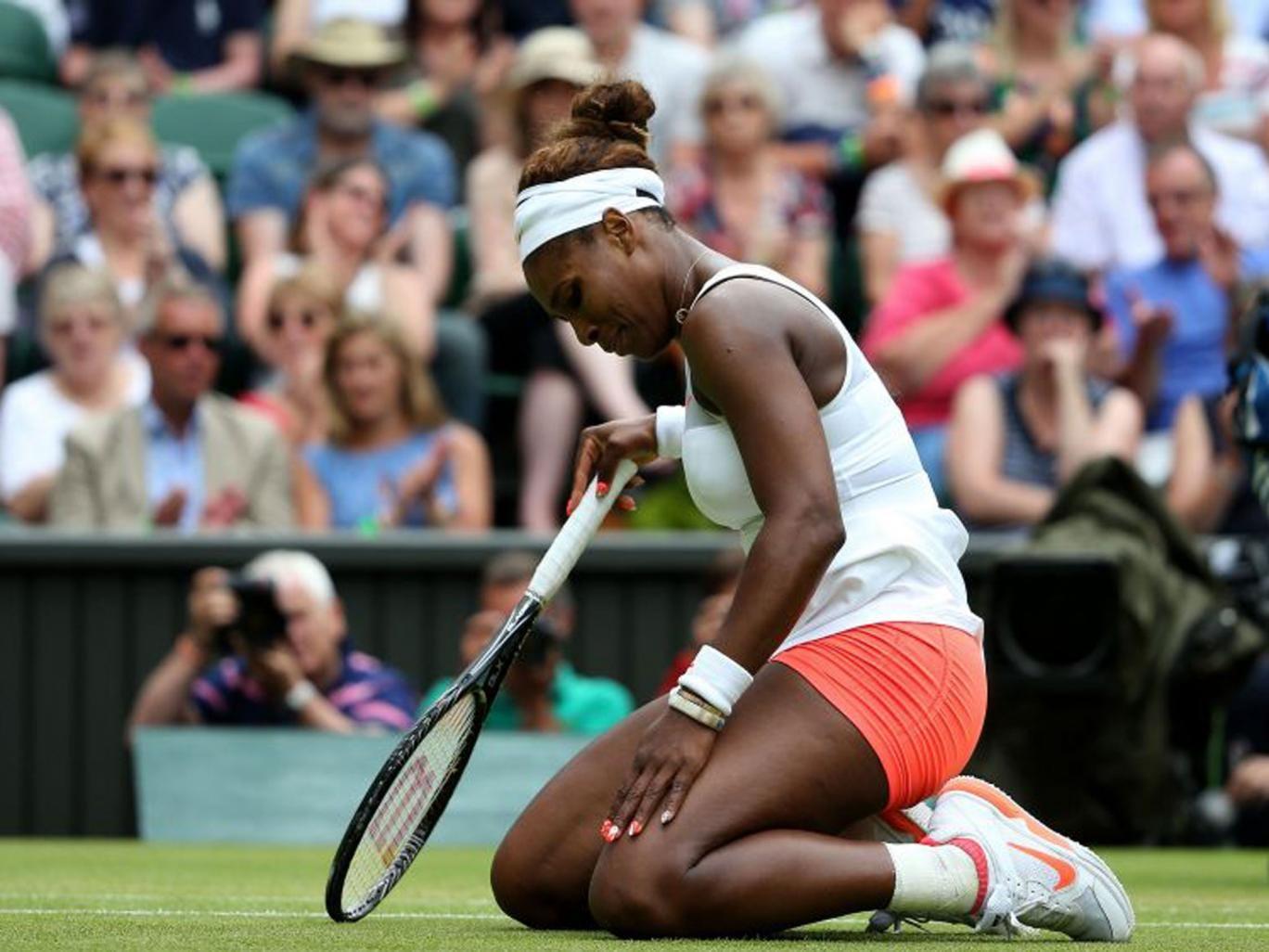 Serena Williams yesterday