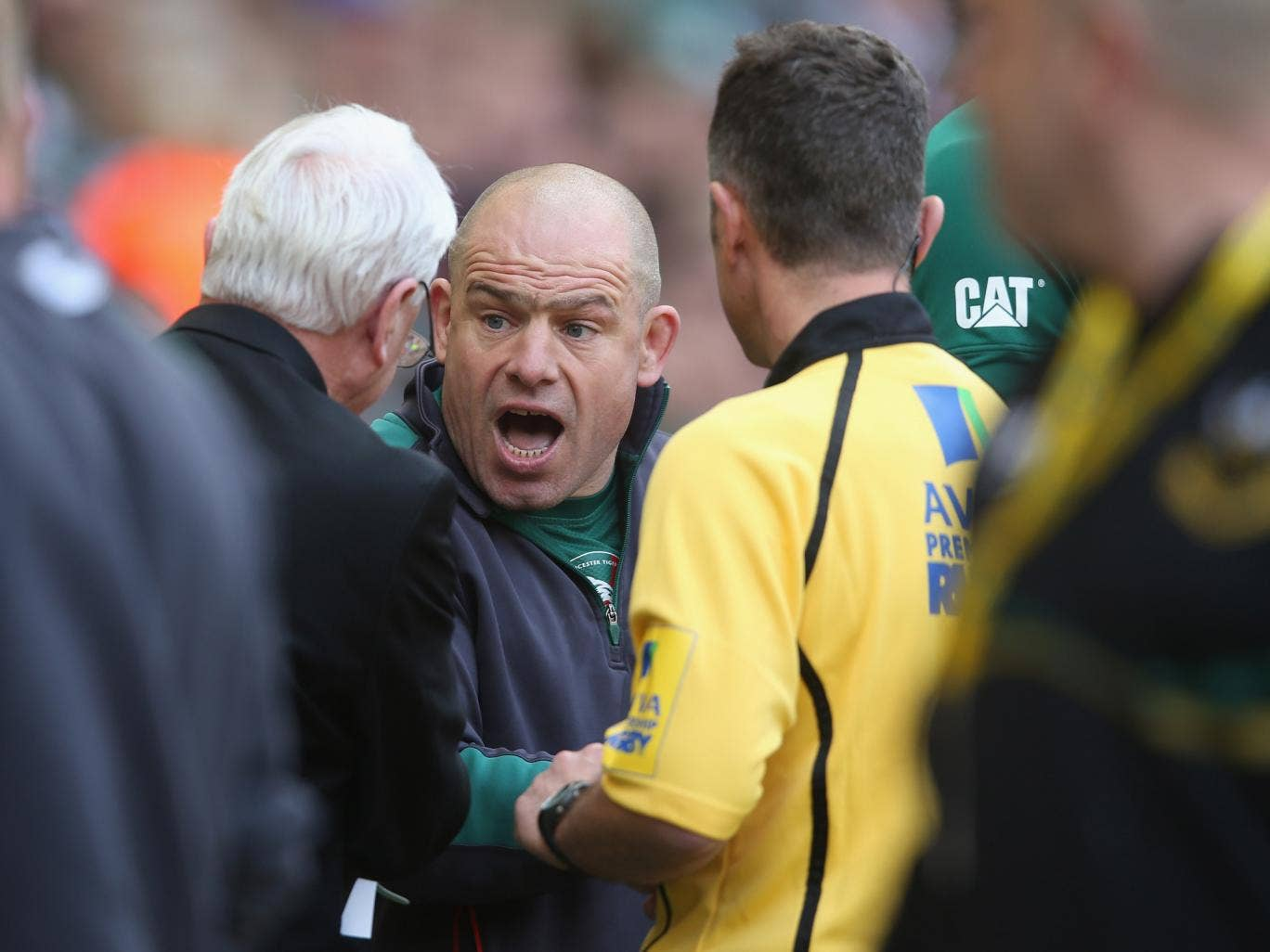 Leicester Tigers boss Richard Cockerill is suspended for nine matches over his conduct in the Premiership final