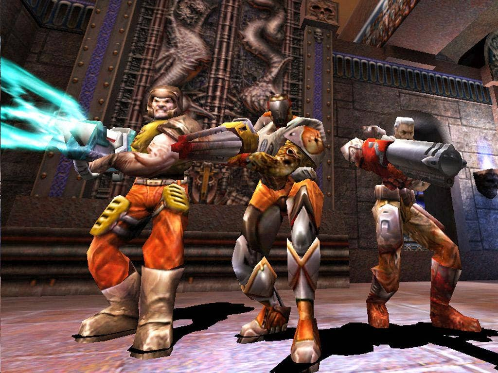 First-person shooter 'Quake III Arena', released in 1999