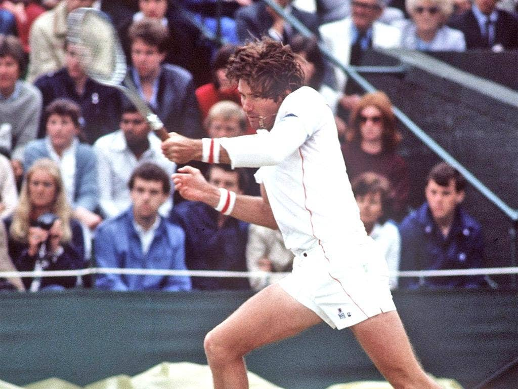 Jimmy Connors was among 12 of the top 16 seeds who went out before the 1983 Wimbledon quarter-finals
