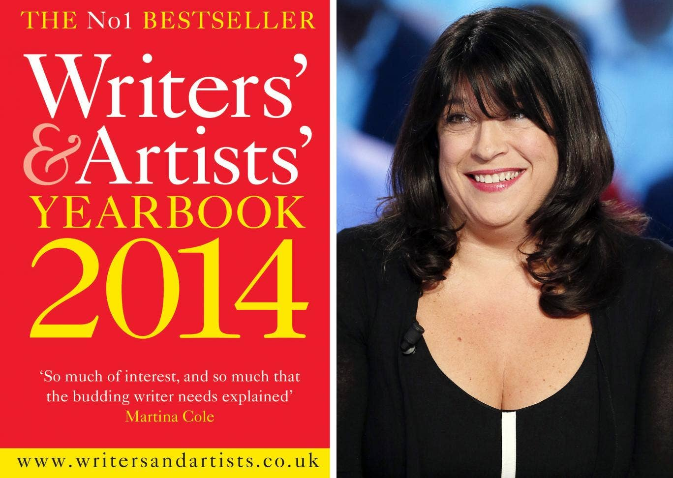 A chapter on writing erotic fiction is to feature in the 'Writers' & Artists' Yearbook' for the first time following the success of EL James' 'Fifty Shades of Grey' (pictured)