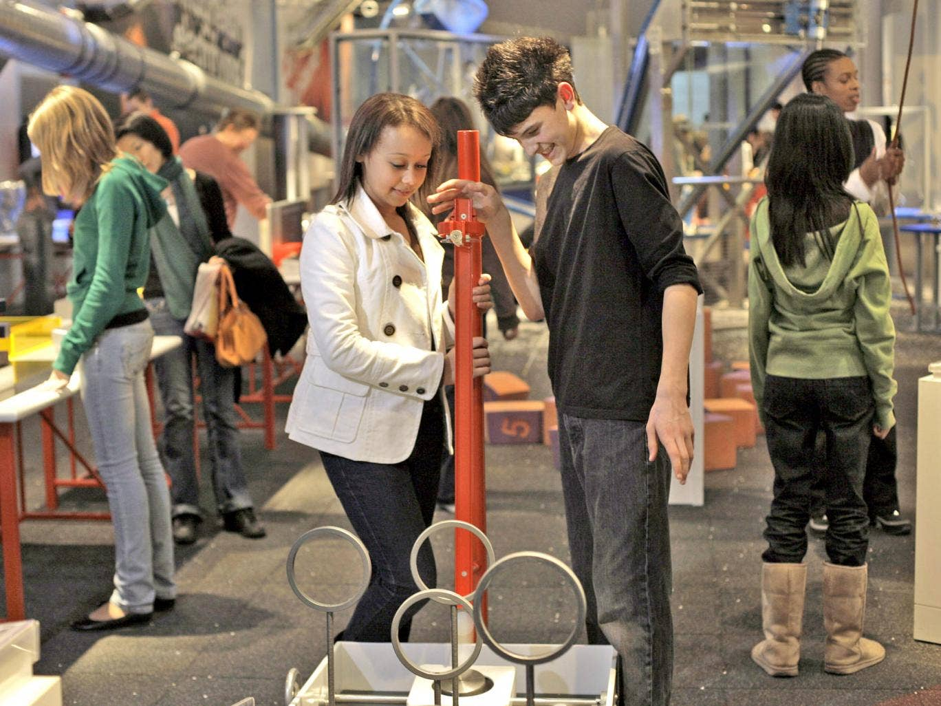 The appliance of science: hands-on learning at the Science Museum