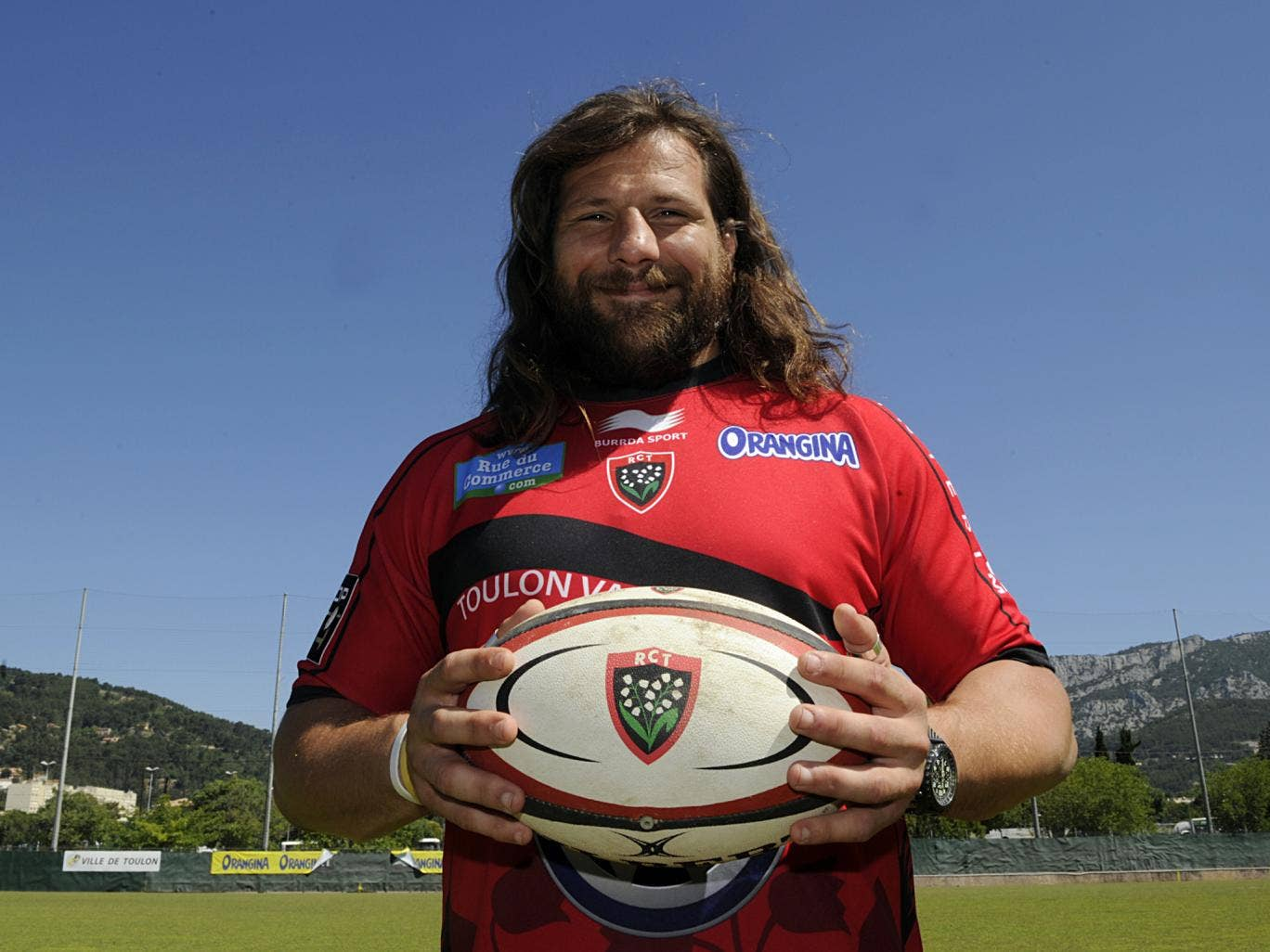 Martin Castrogiovanni pictured after his move to Toulon