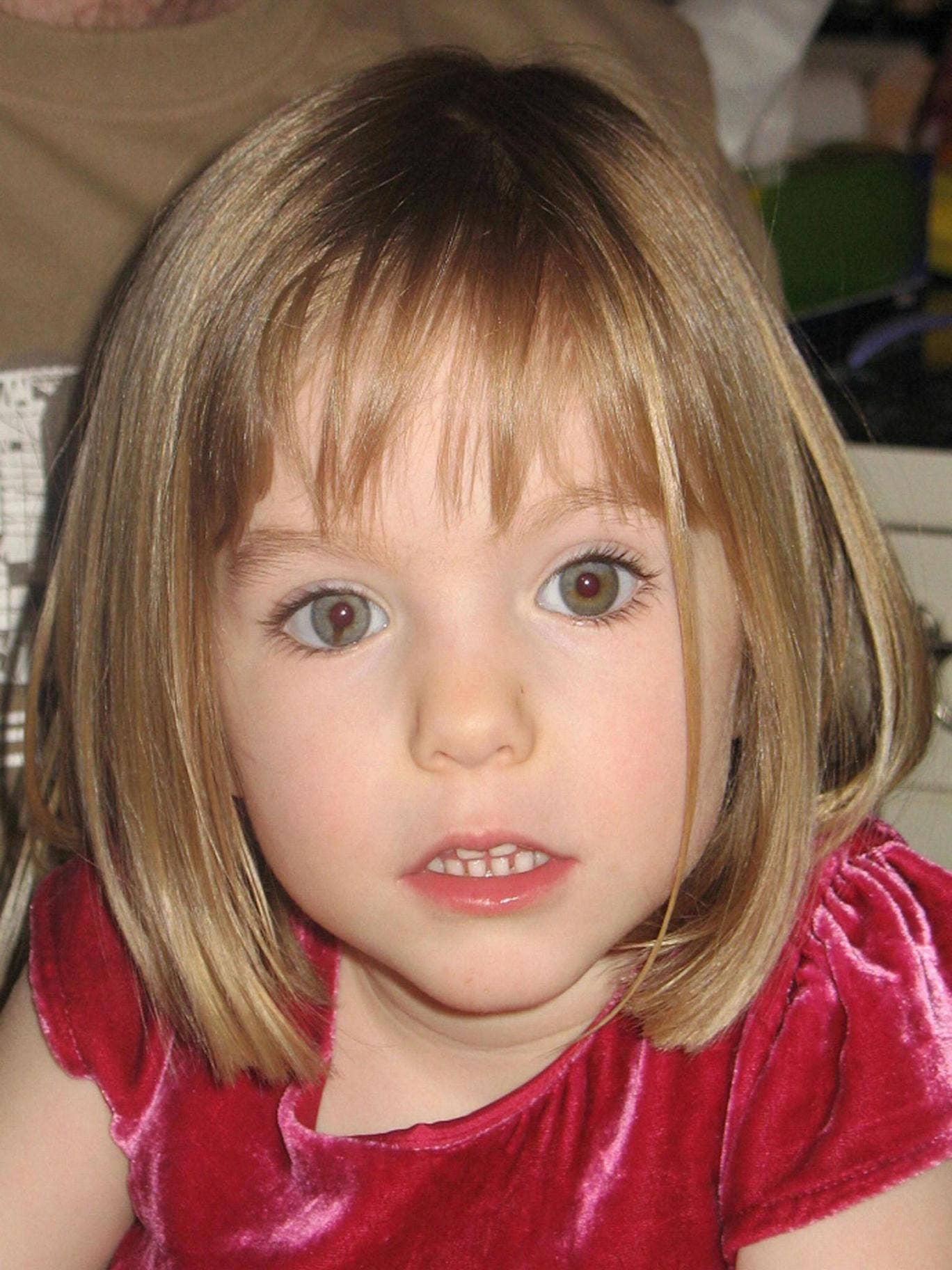 Madeleine McCann: The girl was three when she was abducted during a family holiday in 2007