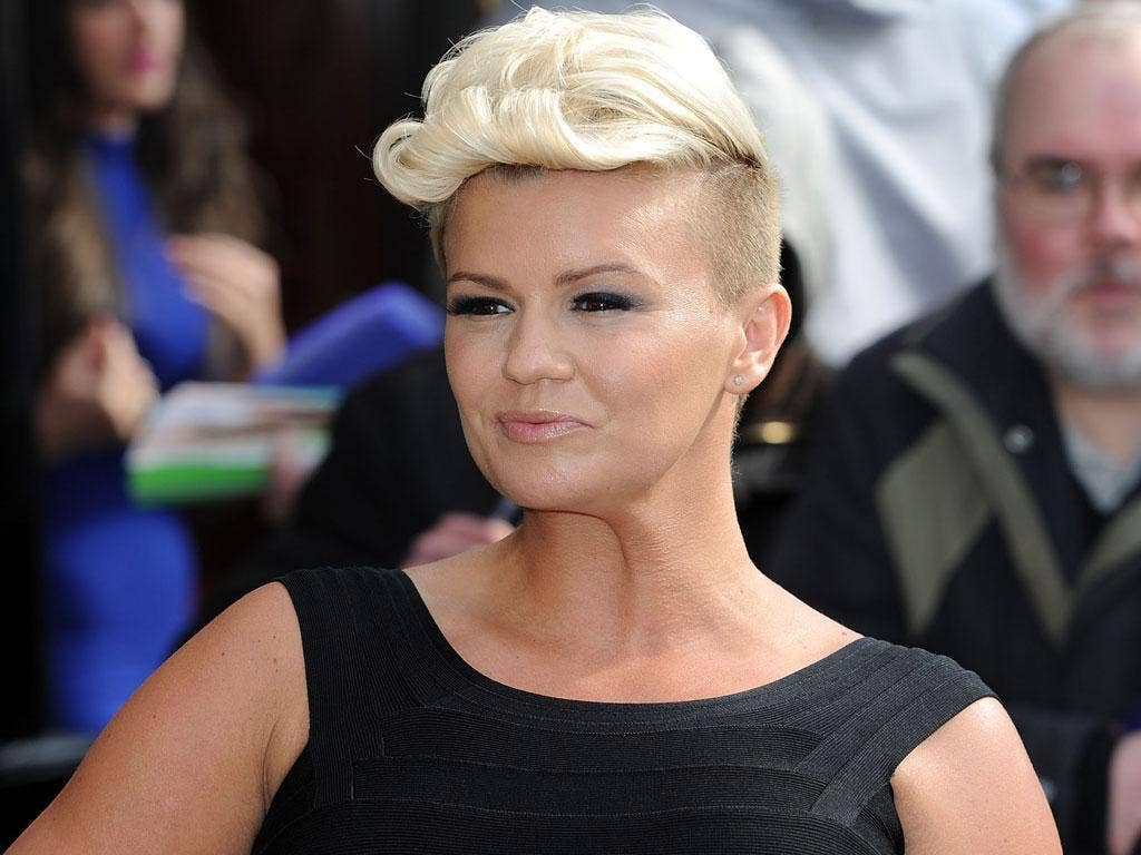 Kerry Katona: her continual ignorance of even basic money management is not something to be applauded