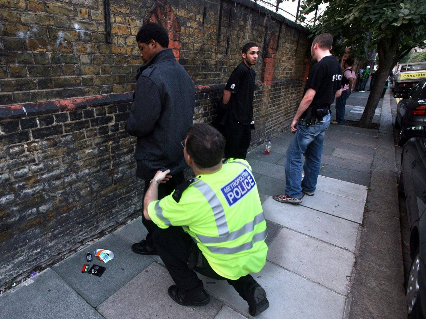 The Metropolitan Police has introduced a 'satisfaction survey' for those stopped and searched