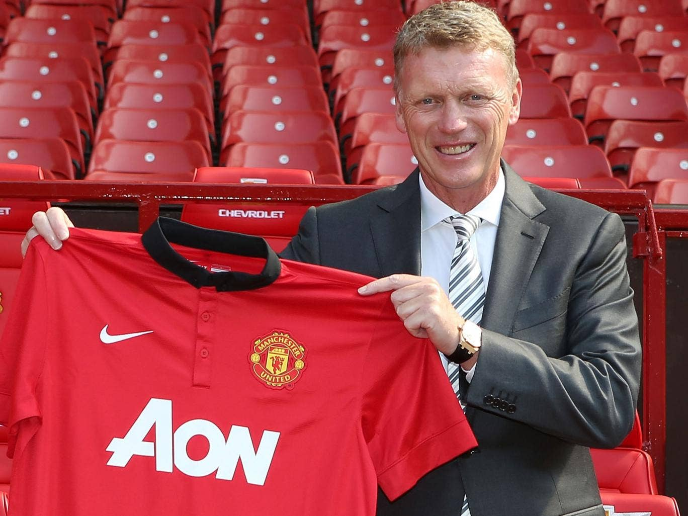 David Moyes has few illusions that the club will show him the kind of patience they had with Sir Alex Ferguson if things go wrong