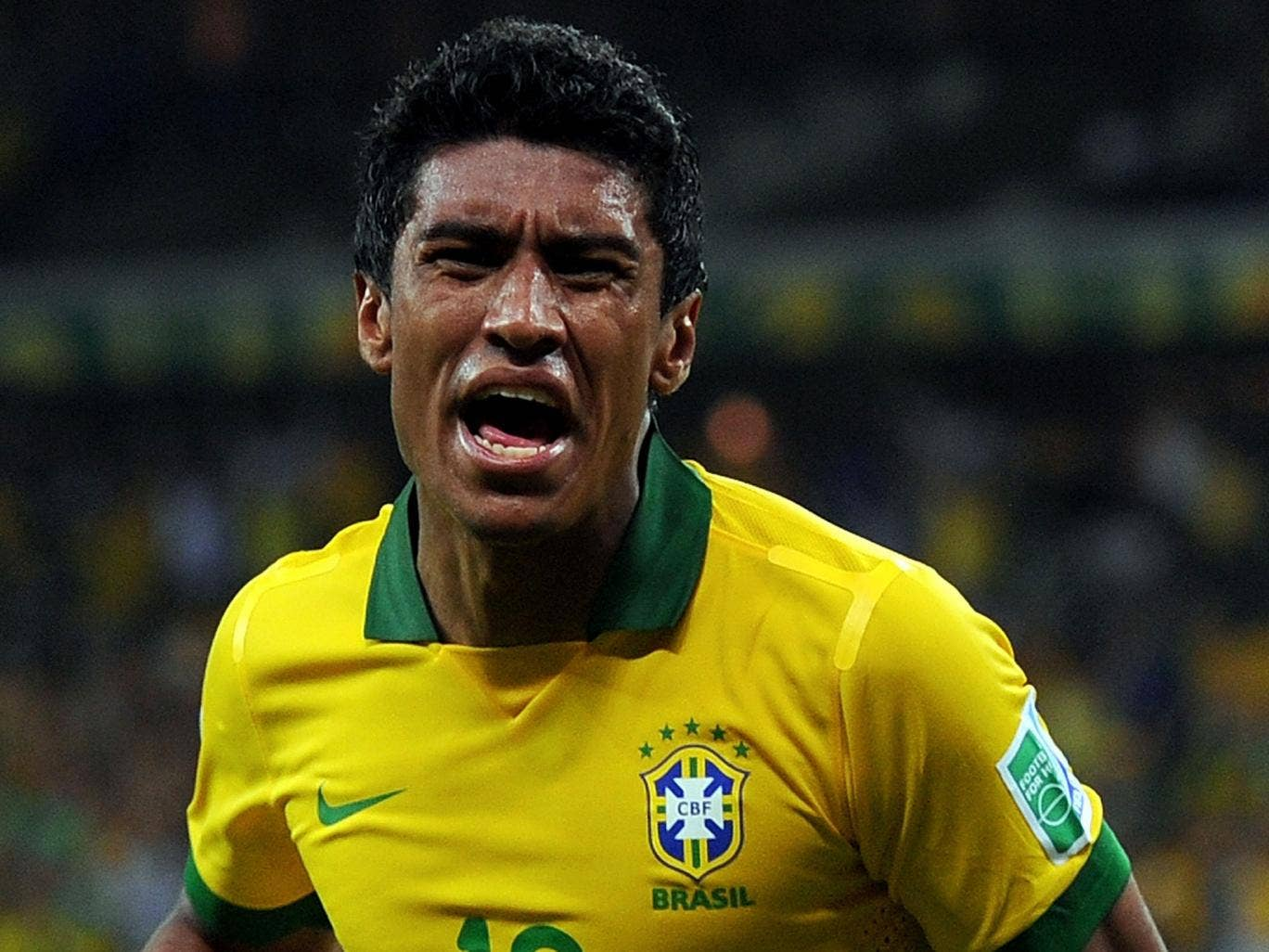 Corinthian spirit: Paulinho is excited by the challenge of playing for Spurs