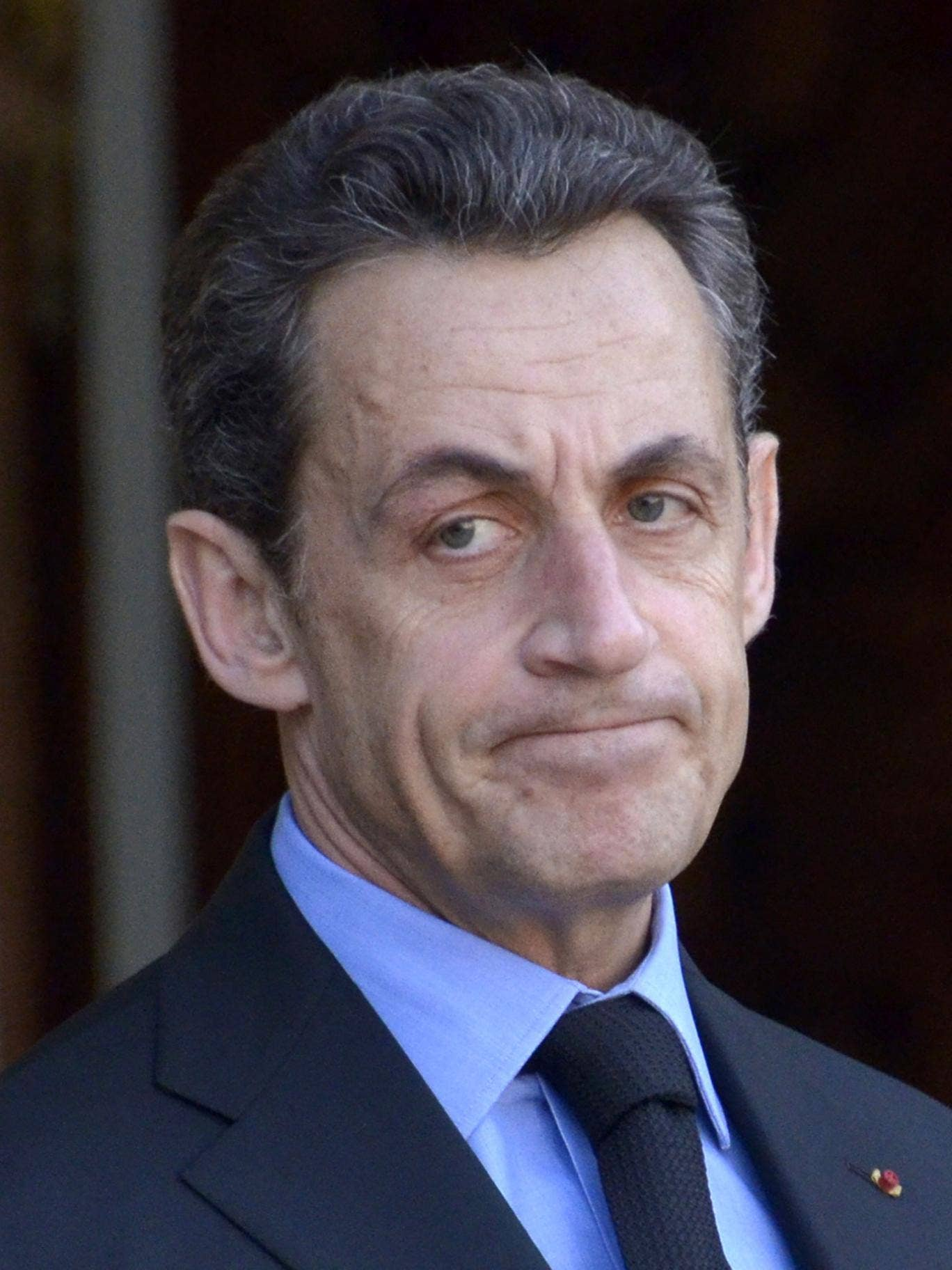Former French president Nicolas Sarkozy returns to the political stage to appeal for support for his debt-ridden party