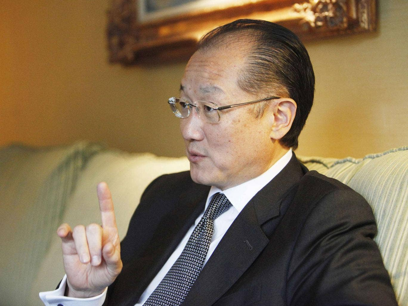 Jim Yong Kim: determined to make an impact