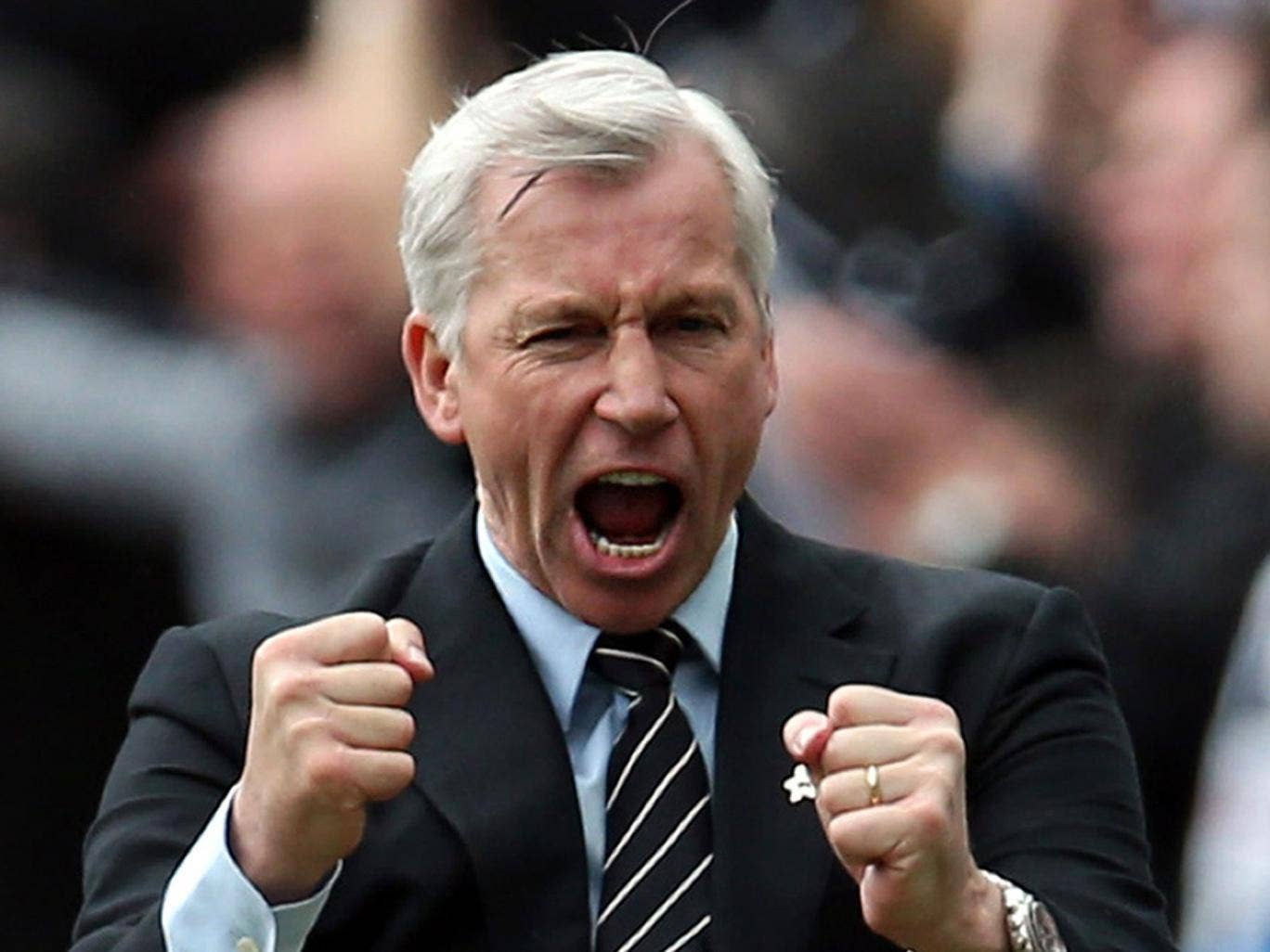 Alan Pardew: 'I'm my own man and will manage this club to best of my ability'