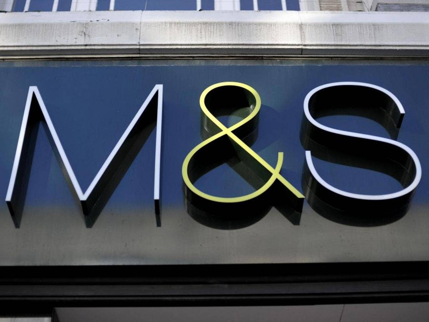 Marks & Spencer's decline in like-for-like sales of 1.6 per cent for the 13 weeks to the end of June was broadly in line with expectations