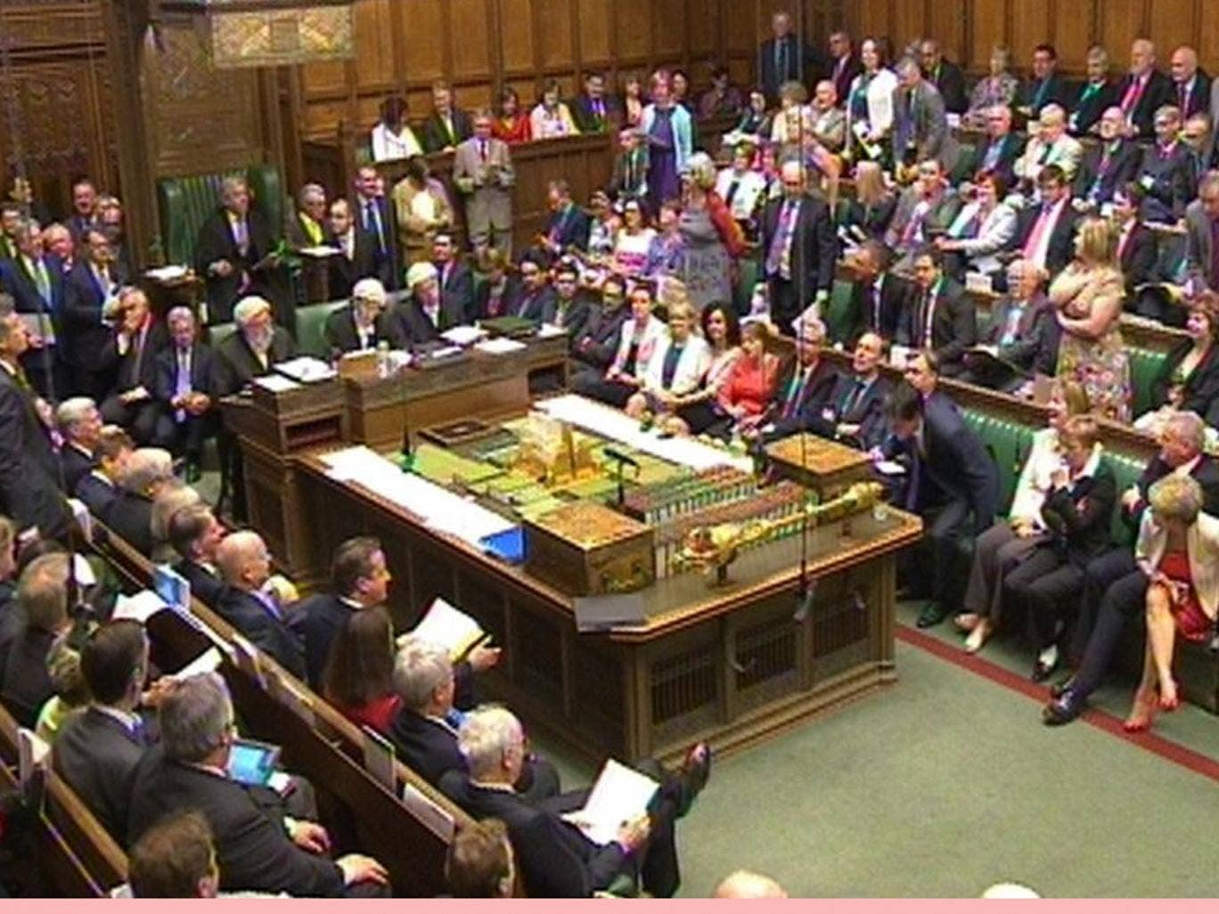 A general view during Prime Minister's Questions during bitter exchanges about Party donations