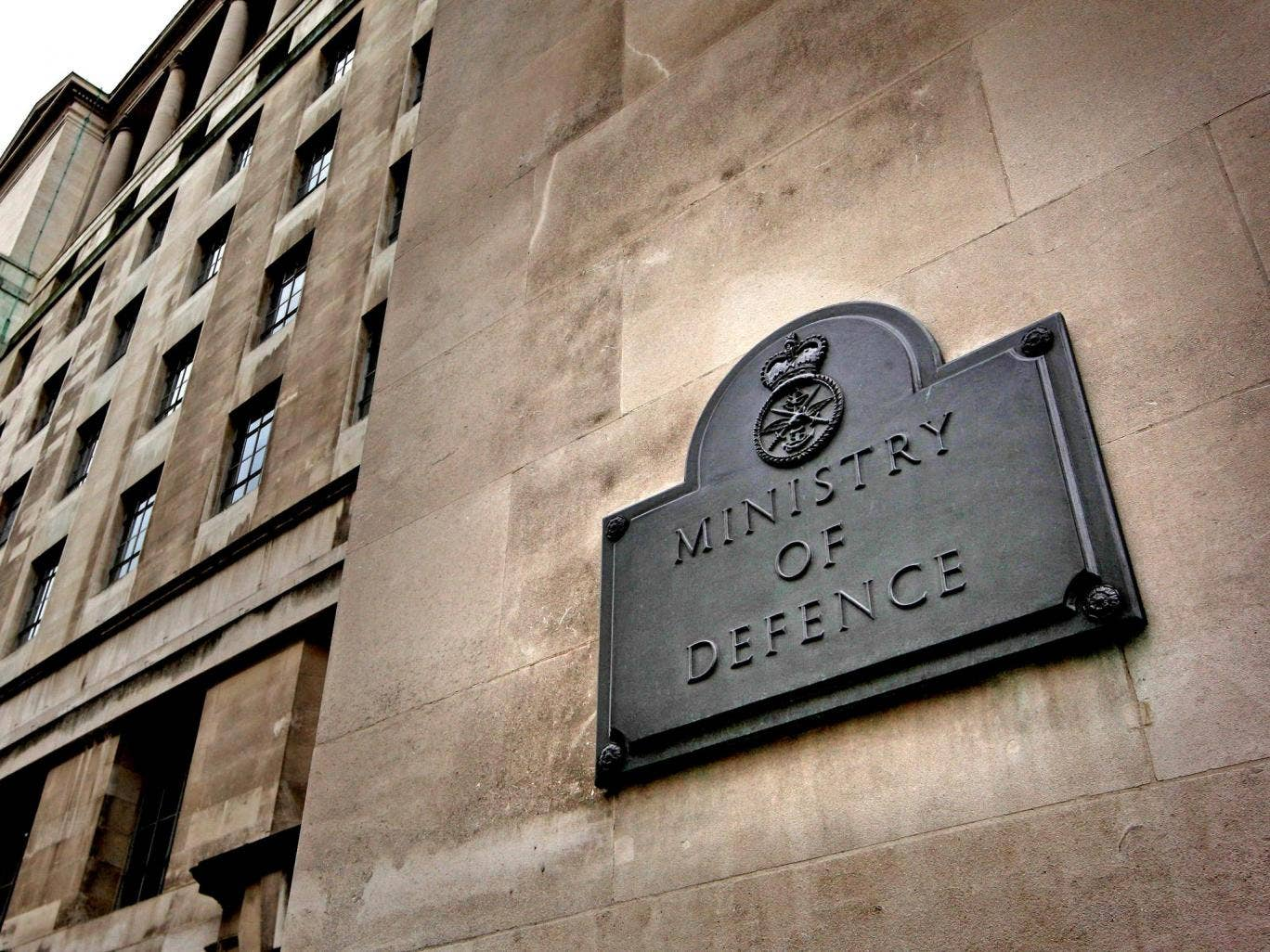Ministry of Defence building in London