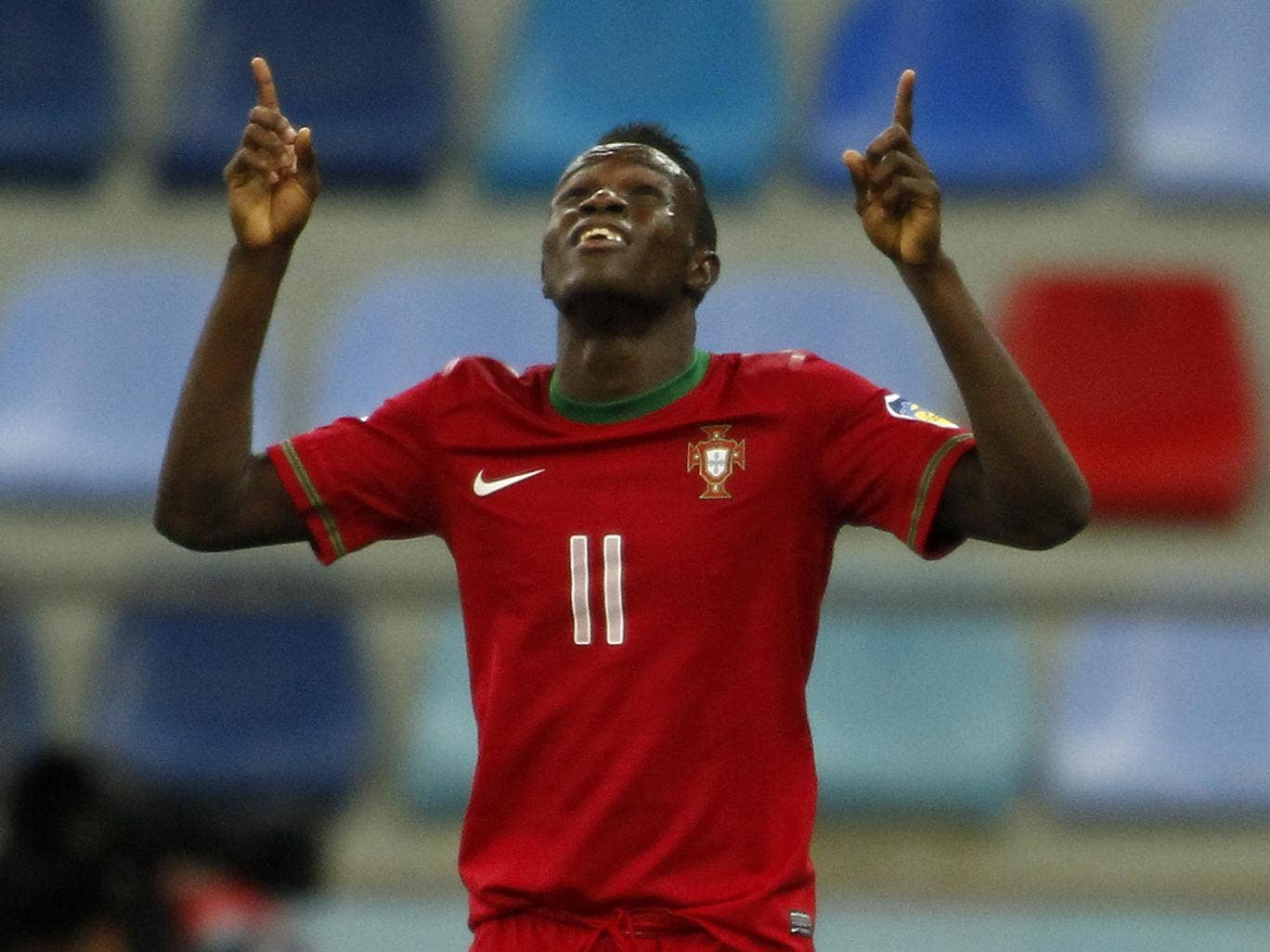 Sporting Lisbon winger Bruma in action for Portugal Under-20's in the recent U-20's World Cup