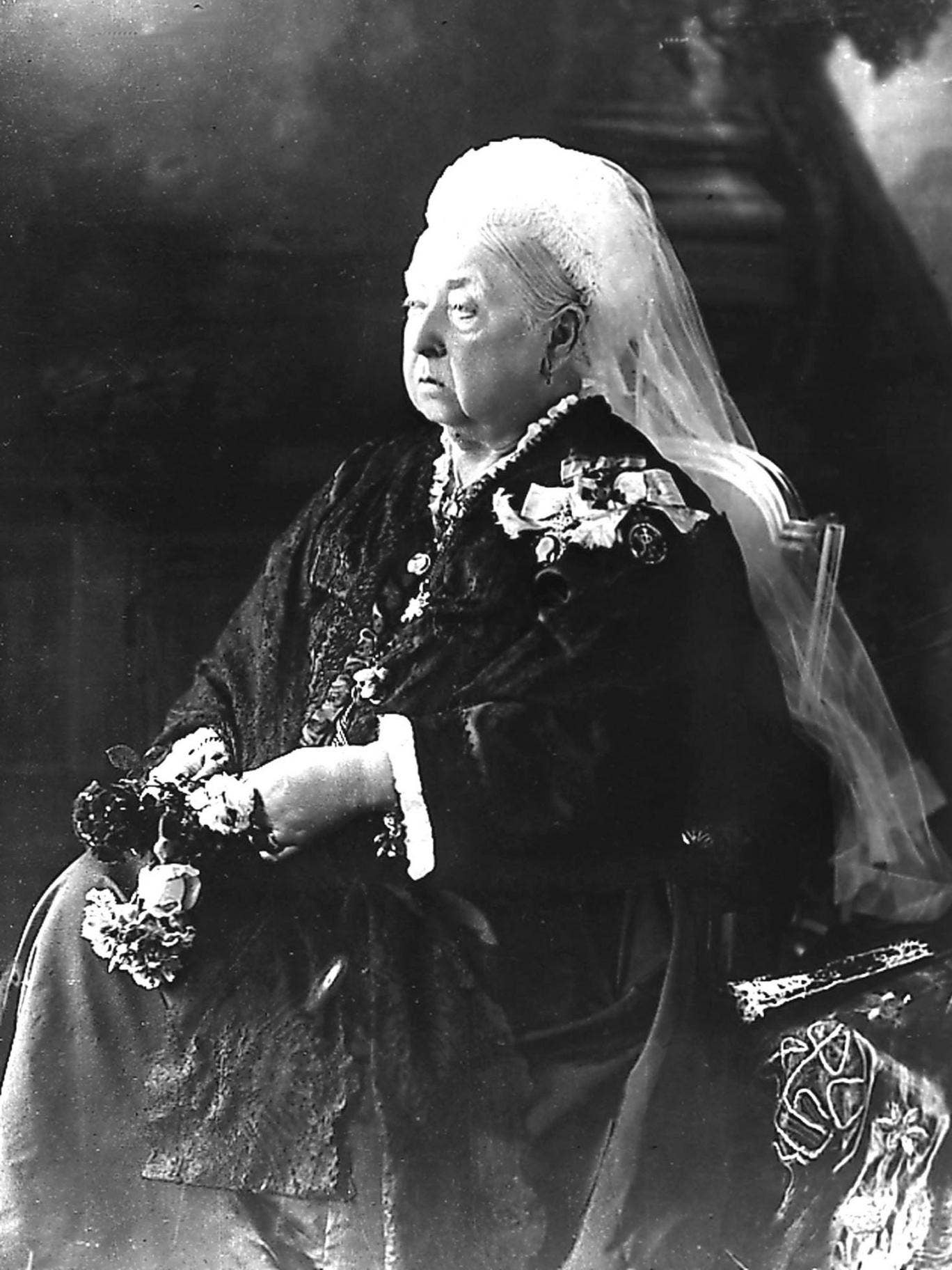 Queen Victoria, photographed for her Diamond Jubilee in 1897
