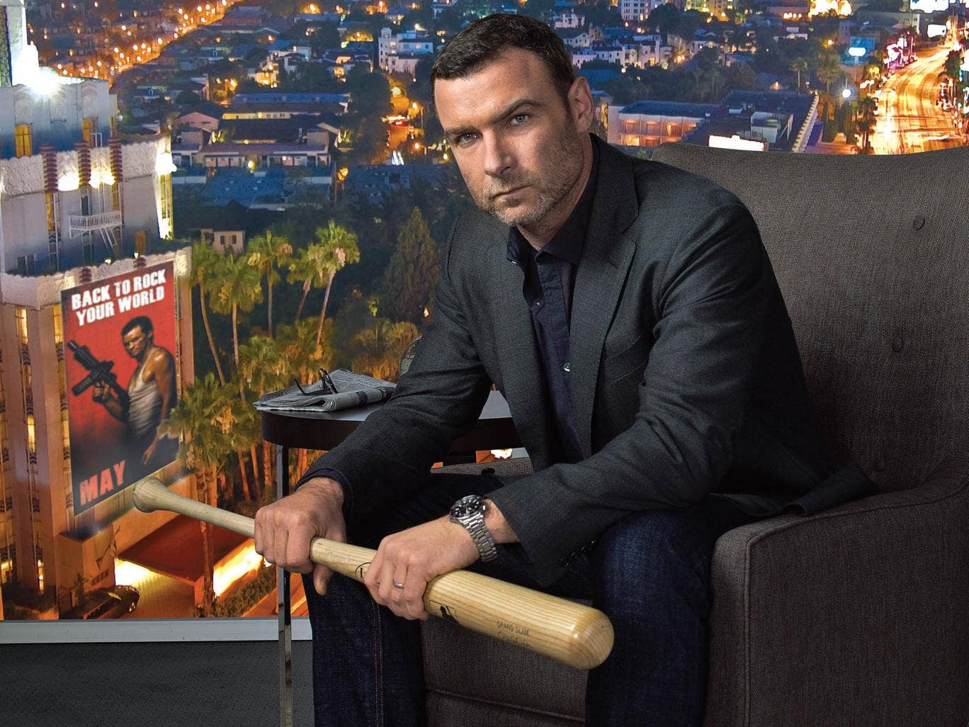 Liev Schreiber as Ray Donovan, who was a 'fixer' in Hollywood