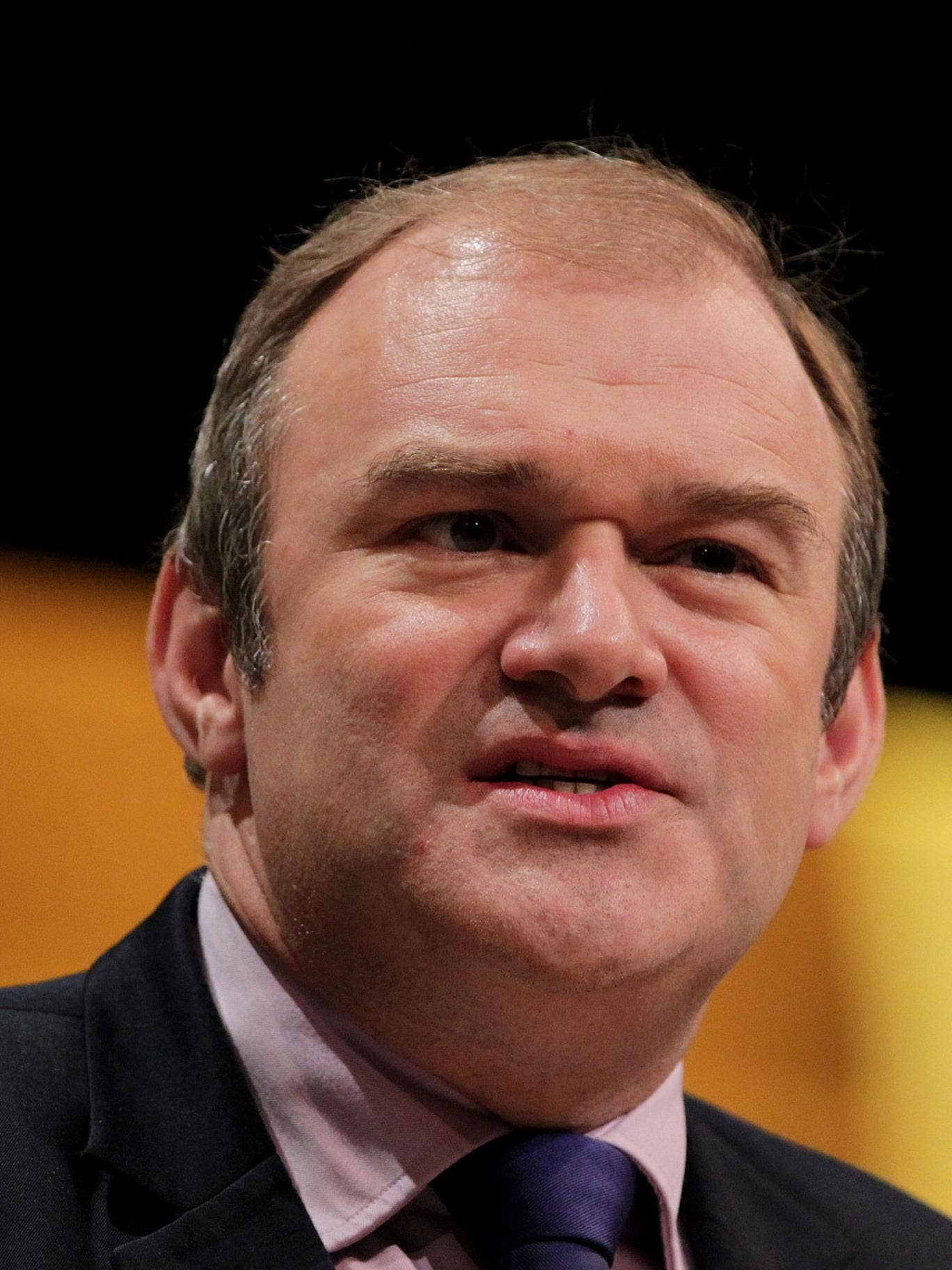 Ed Davey says 'The new energy policy will account for 17 per cent of the increase in electricity unit prices, which will not affect household bills'