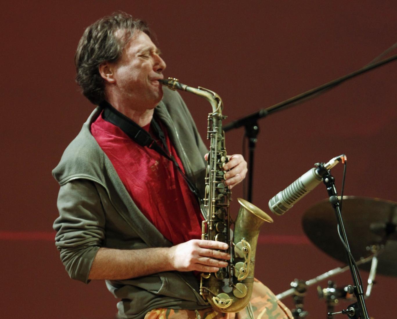 John Zorn performing in 2011