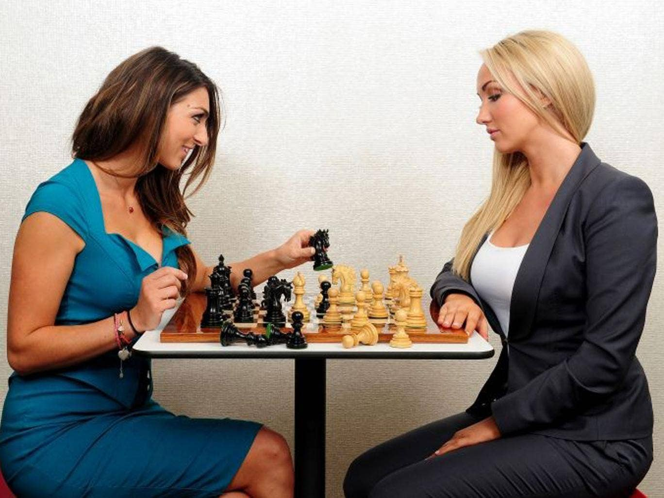 Leah Totton (right) and Luisa Zissman (left) set for series climax