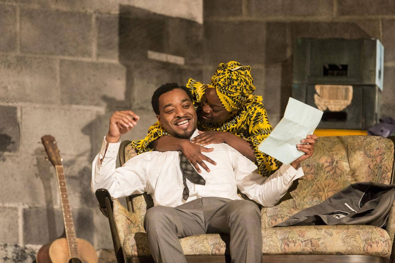 Chiwetel Ejiofor and Joan Iyiola in A Season in the Congo