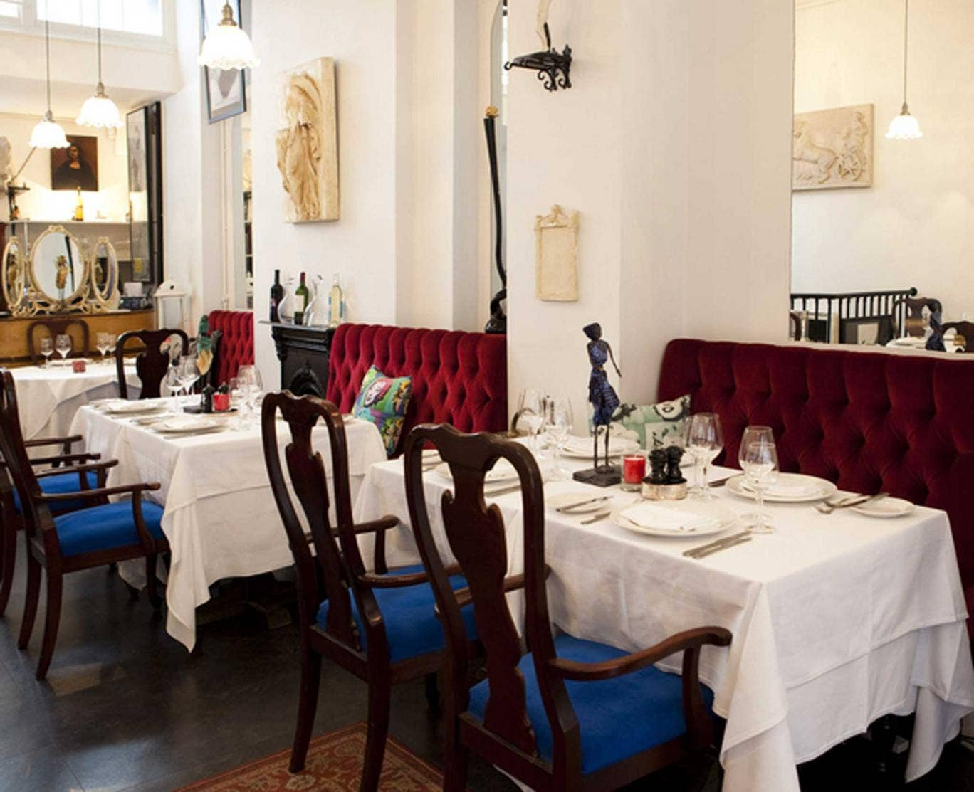 French connection: Otto's is a decent lunch spot for the lawyers of Clerkenwell, or a romantic treat for the refined palates of the ITN media types