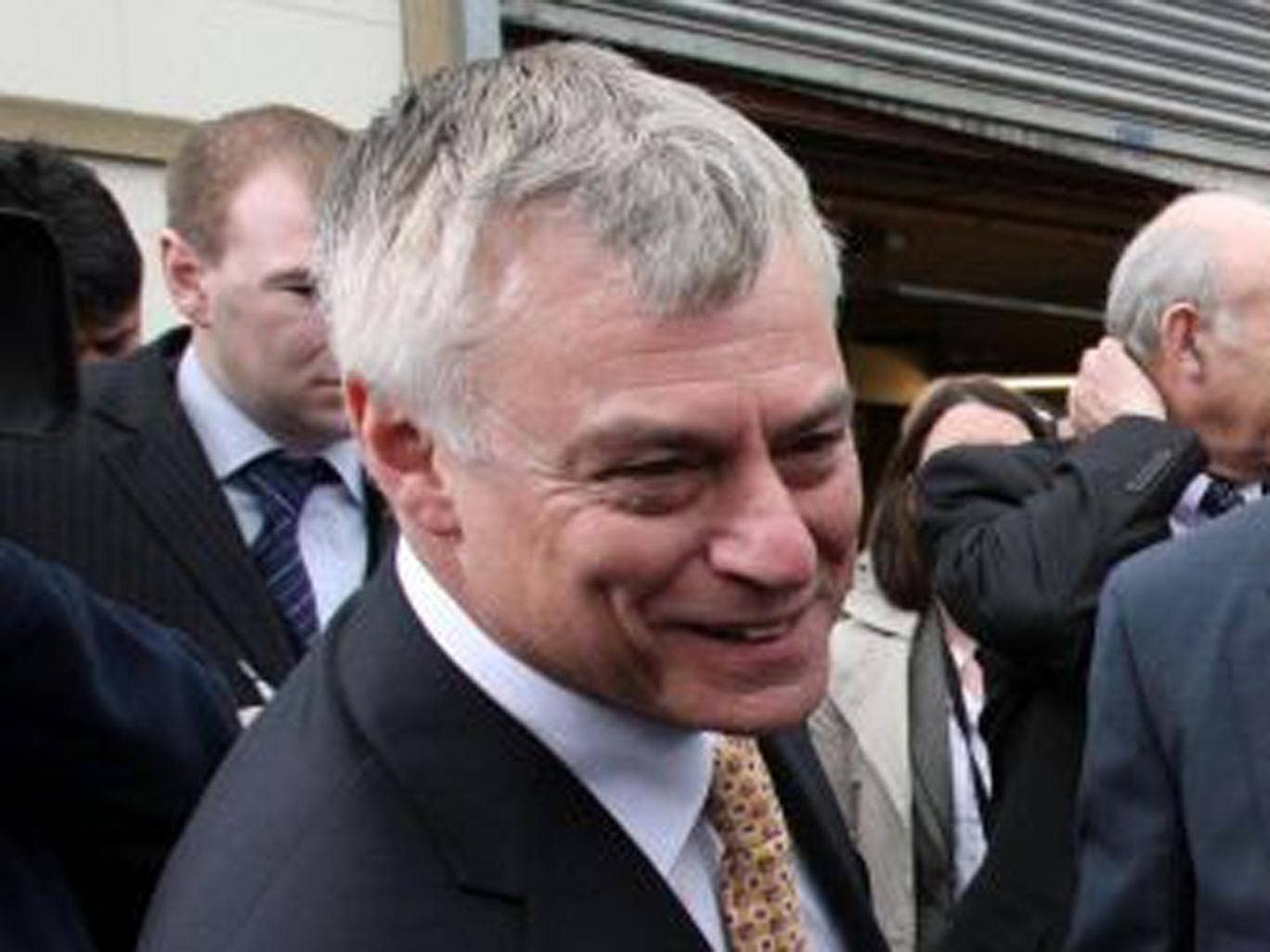 David Ward has had the whip withdrawn until 13 September