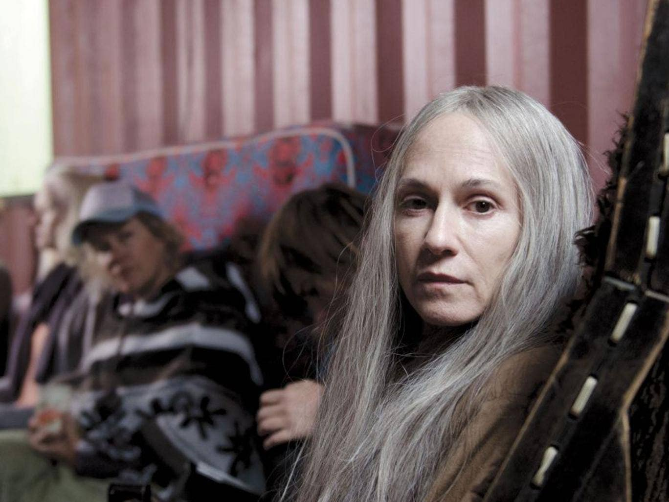 A shore thing: Holly Hunter in 'Top of the Lake'