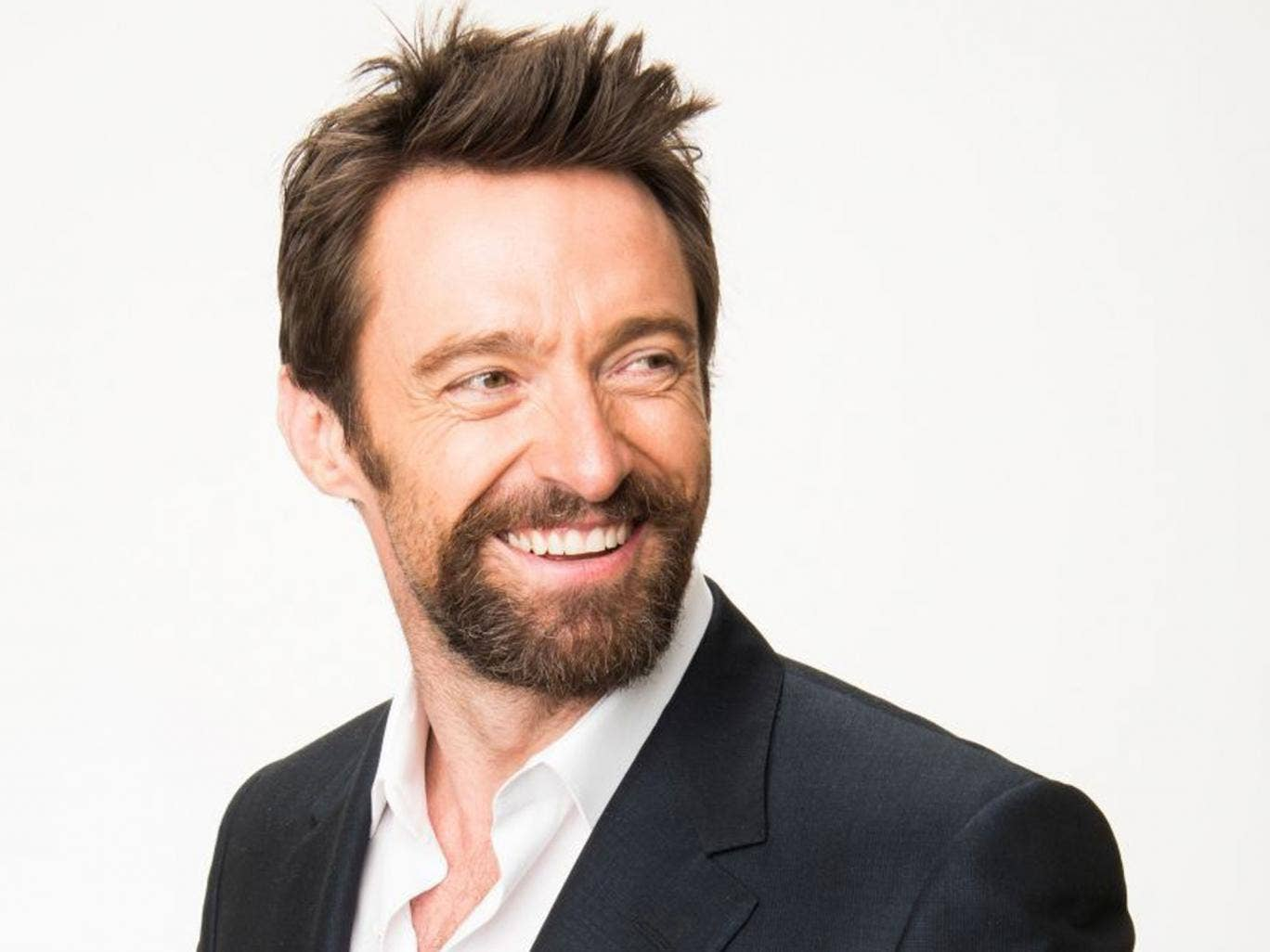 Good hair day: Wolverine actor Hugh Jackman