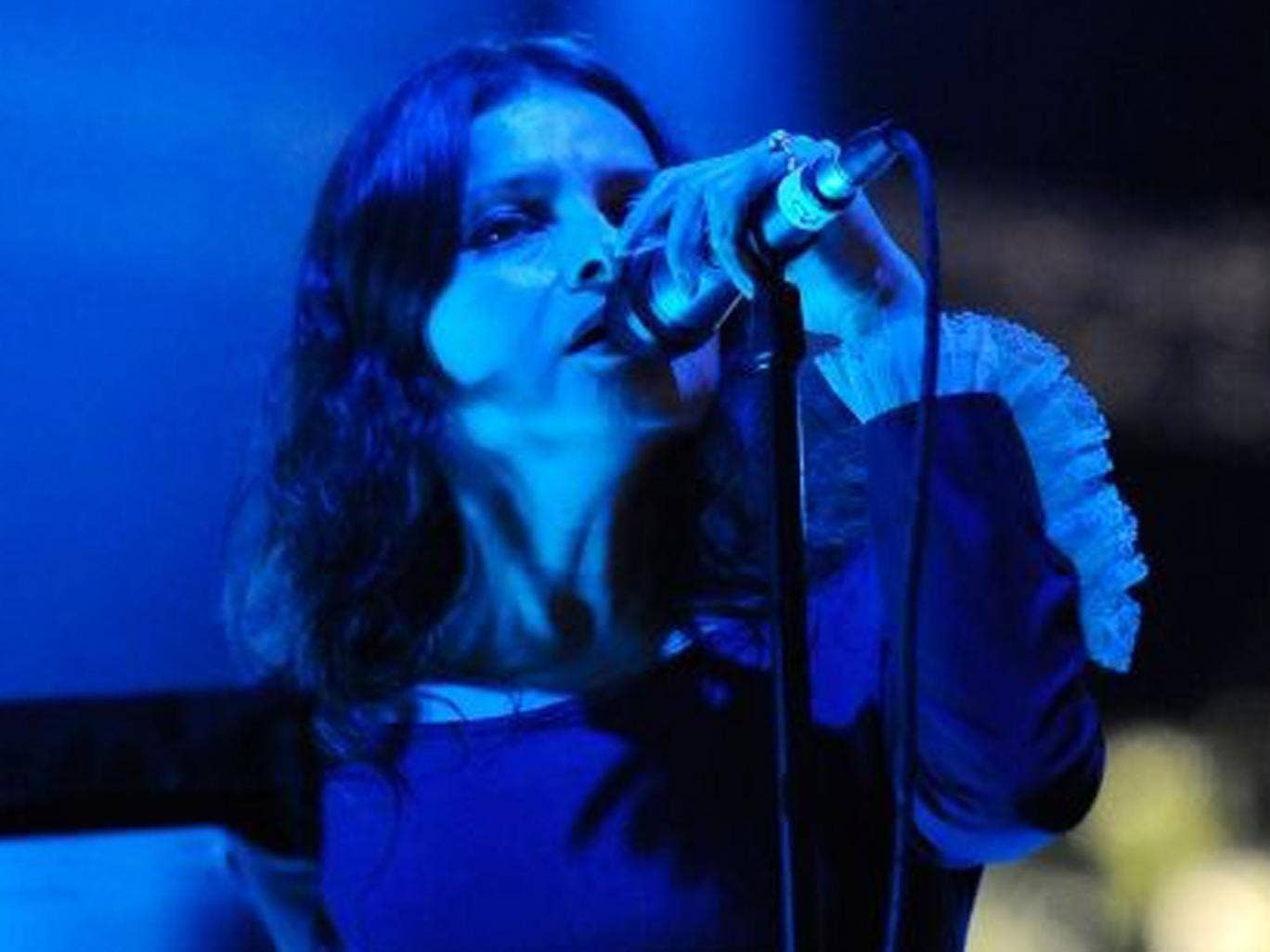 Hope Sandoval has co-written Mazzy Star's first new album in 17 years
