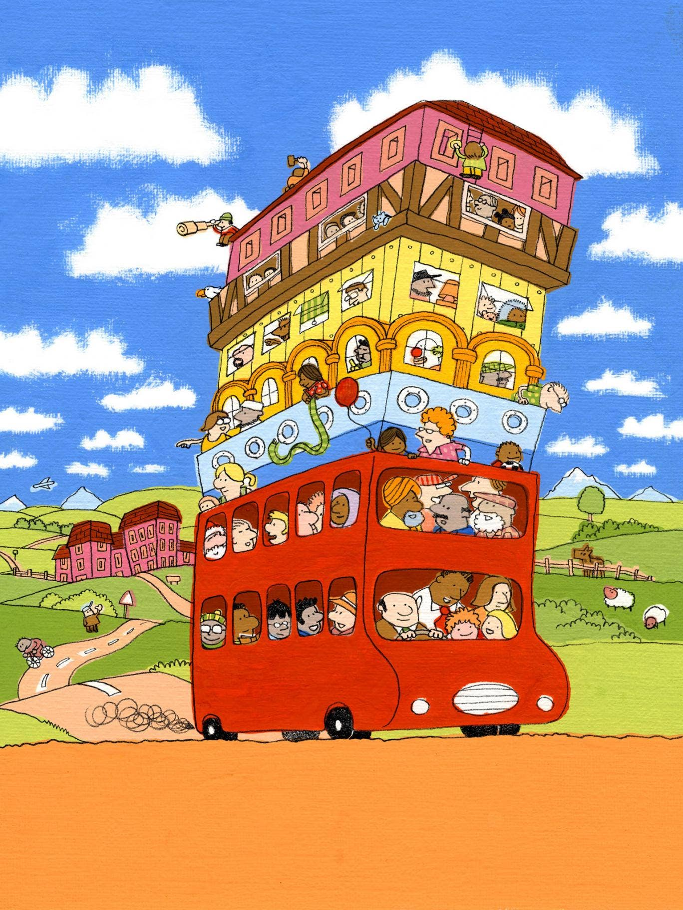Big days out: The Hundred Decker Bus