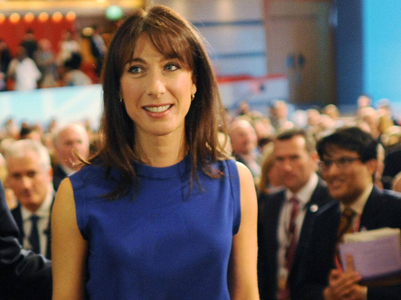 Samantha Cameron has been criticised for urging her husband to intervene in the Syrian civil war