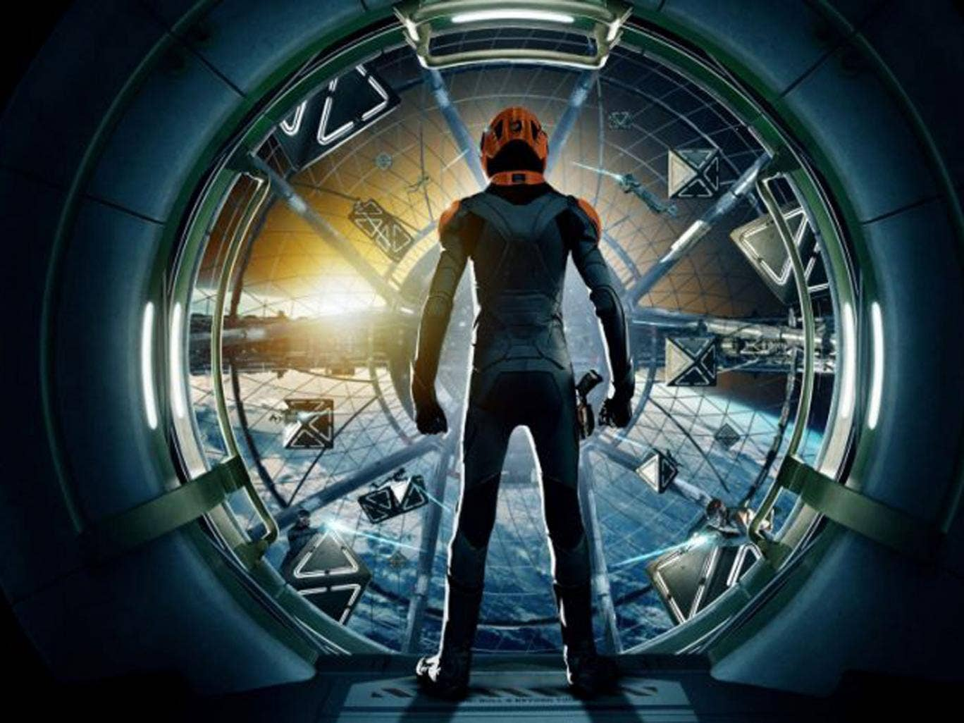 Ender's Game, a dystopian thriller starring Harrison Ford