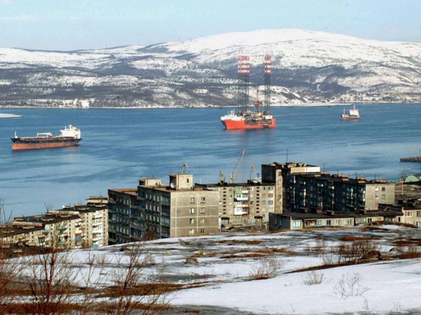 Murmansk, in northern Russia, where the incident took place