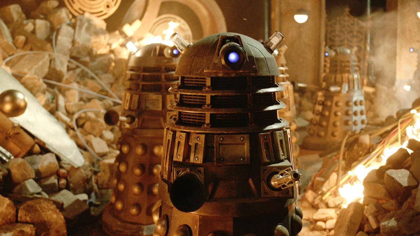 I'll be back: The Exterminators (aka The Daleks) make a return for the BBC's 50th anniversary Doctor Who special
