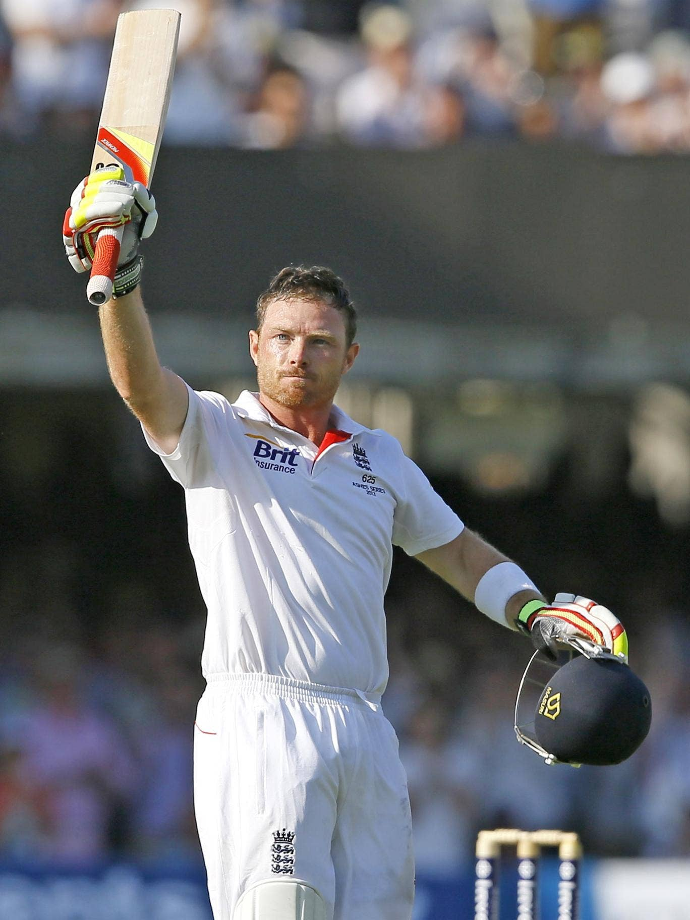 Celebrating my century in the second Test at Lord's