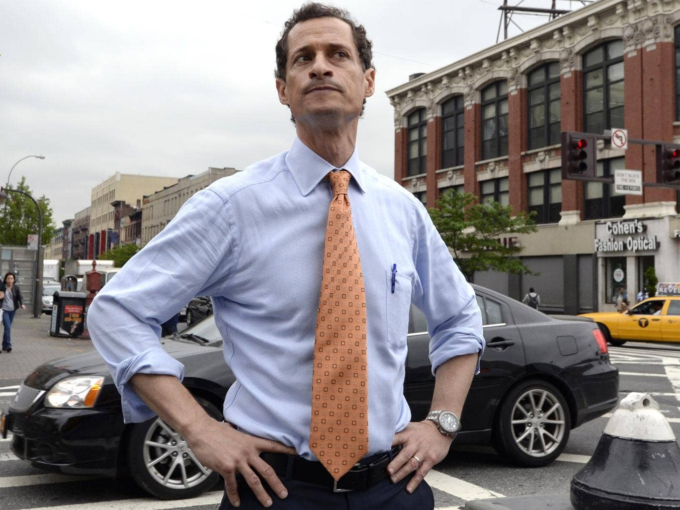 New York mayoral candidate, Anthony Wiener