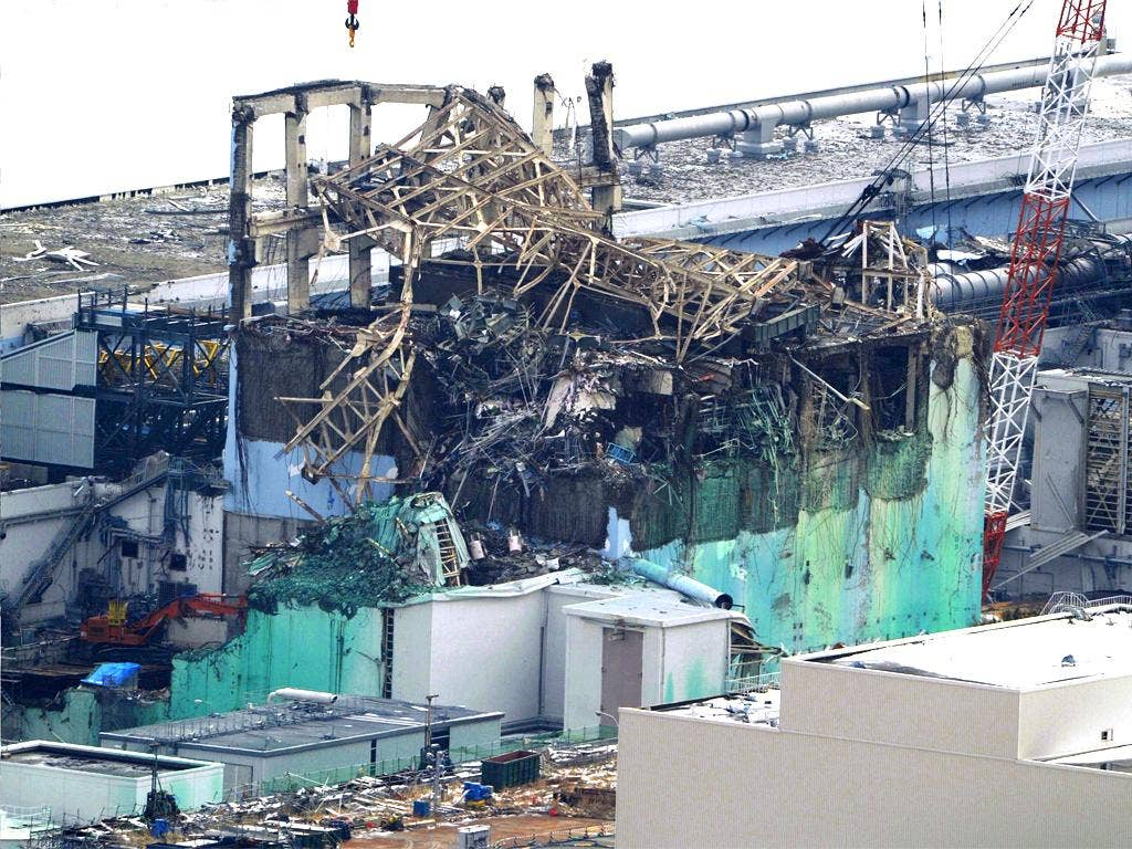 This damaged reactor crippled Fukushima nuclear power plant