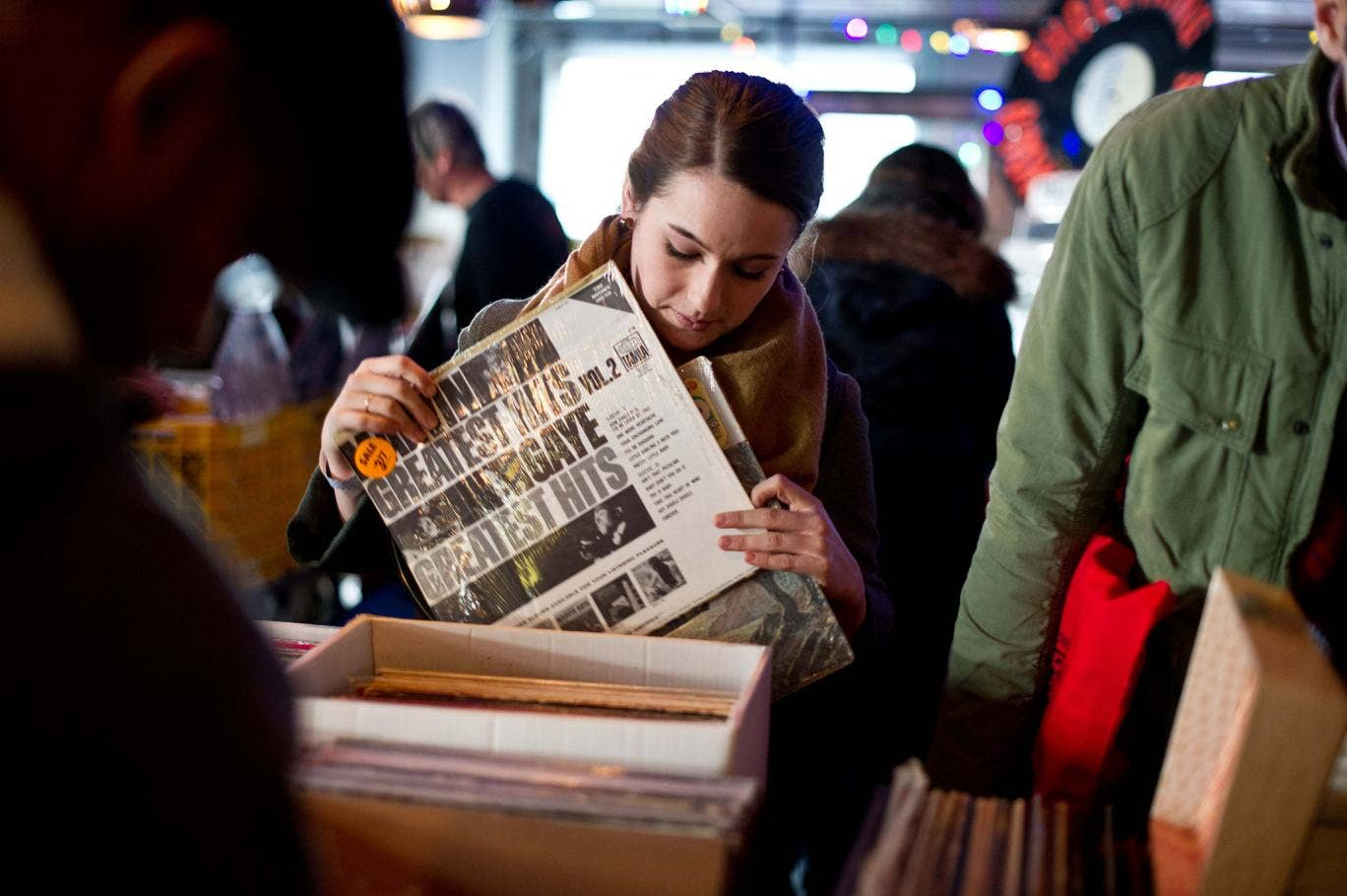 Record Store Day, held in April, contributed to an increase in sales at independent record stores in Britain