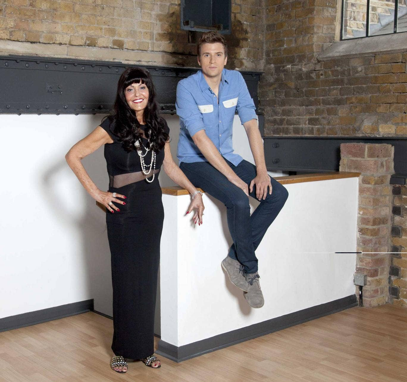 James says he became 'obsessed' with Devey when she started on Dragons' Den in 2011: 'She looked very stern and powerful but she was actually nice to people who came on.'