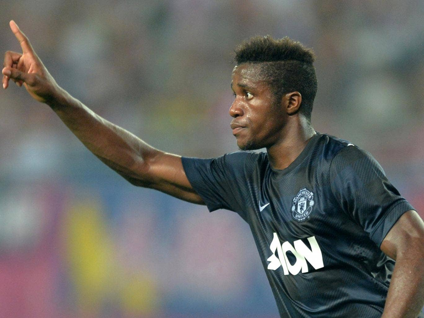 Wilfried Zaha bagged his first goal for Manchester United in a pre-season friendly