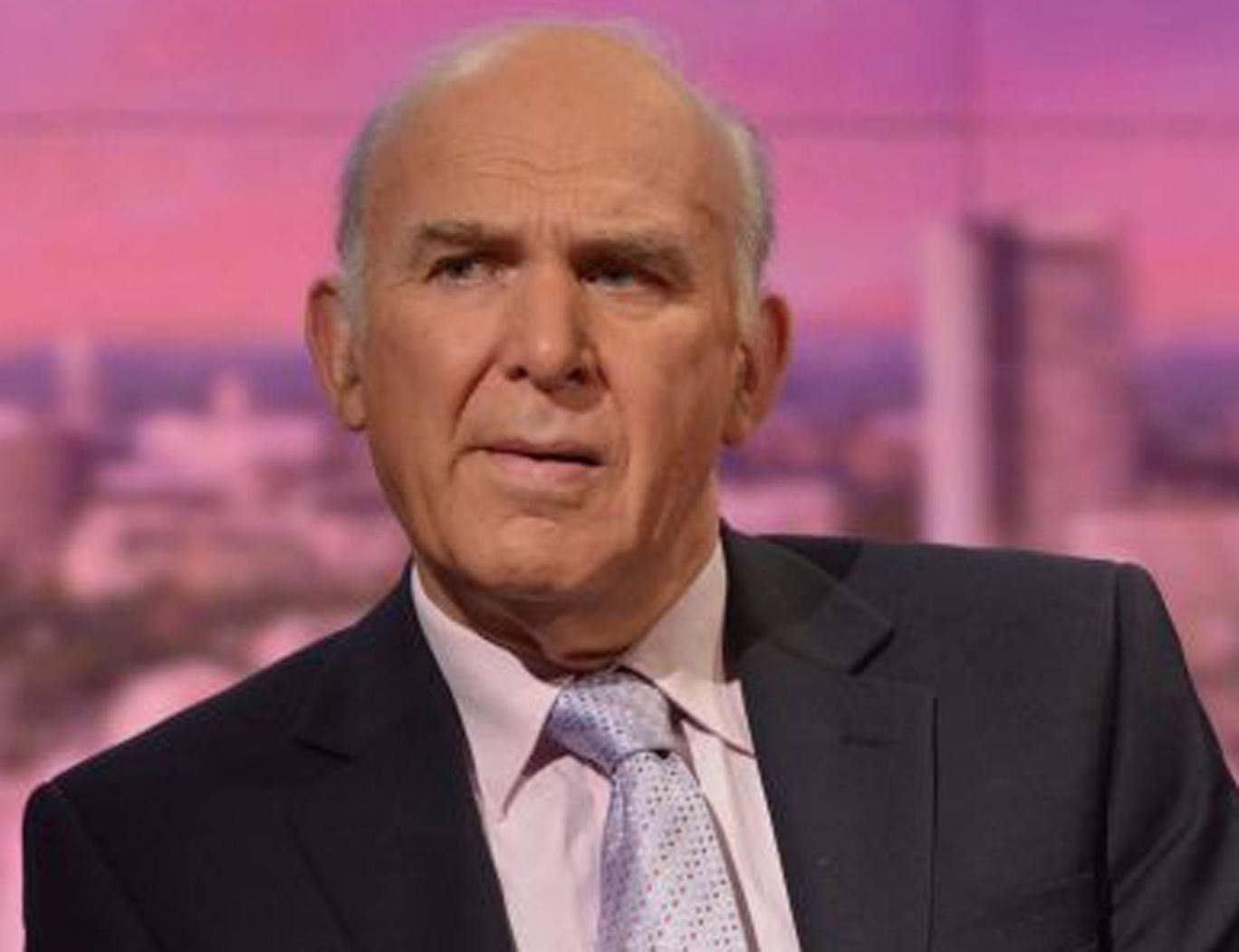 Vince Cable has condemned a 'stupid and offensive' campaign against illegal immigrants